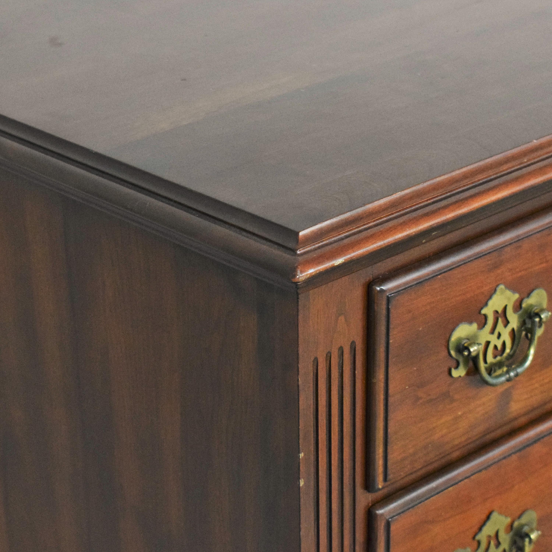 Knob Creek Knob Creek Nine Drawer Double Door Dresser Storage