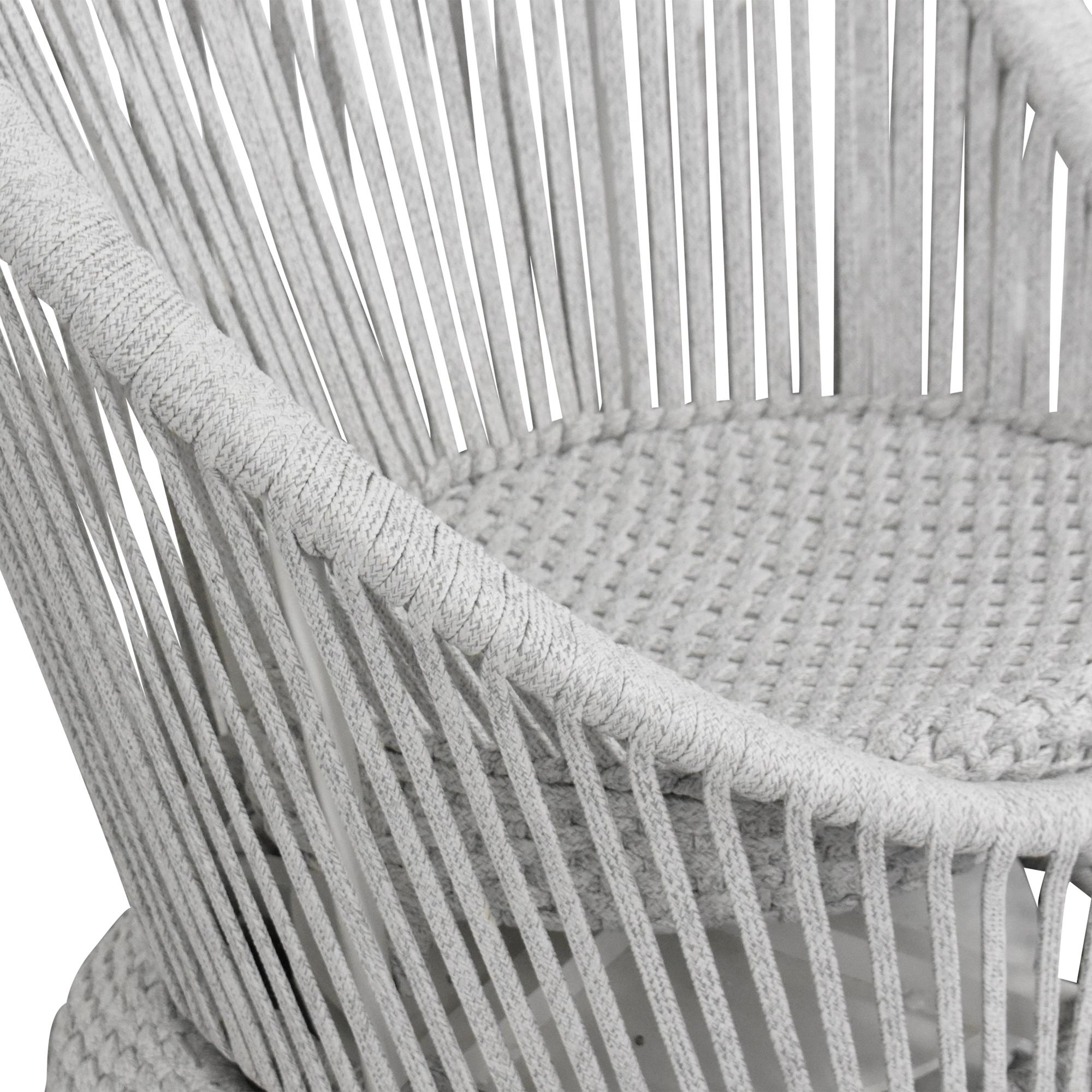Arhaus Arhaus Sevilla Outdoor Swivel Chair nyc