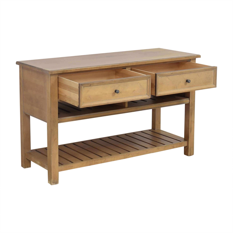 Ethan Allen Ethan Allen Custom Classics Two Drawer Sideboard for sale