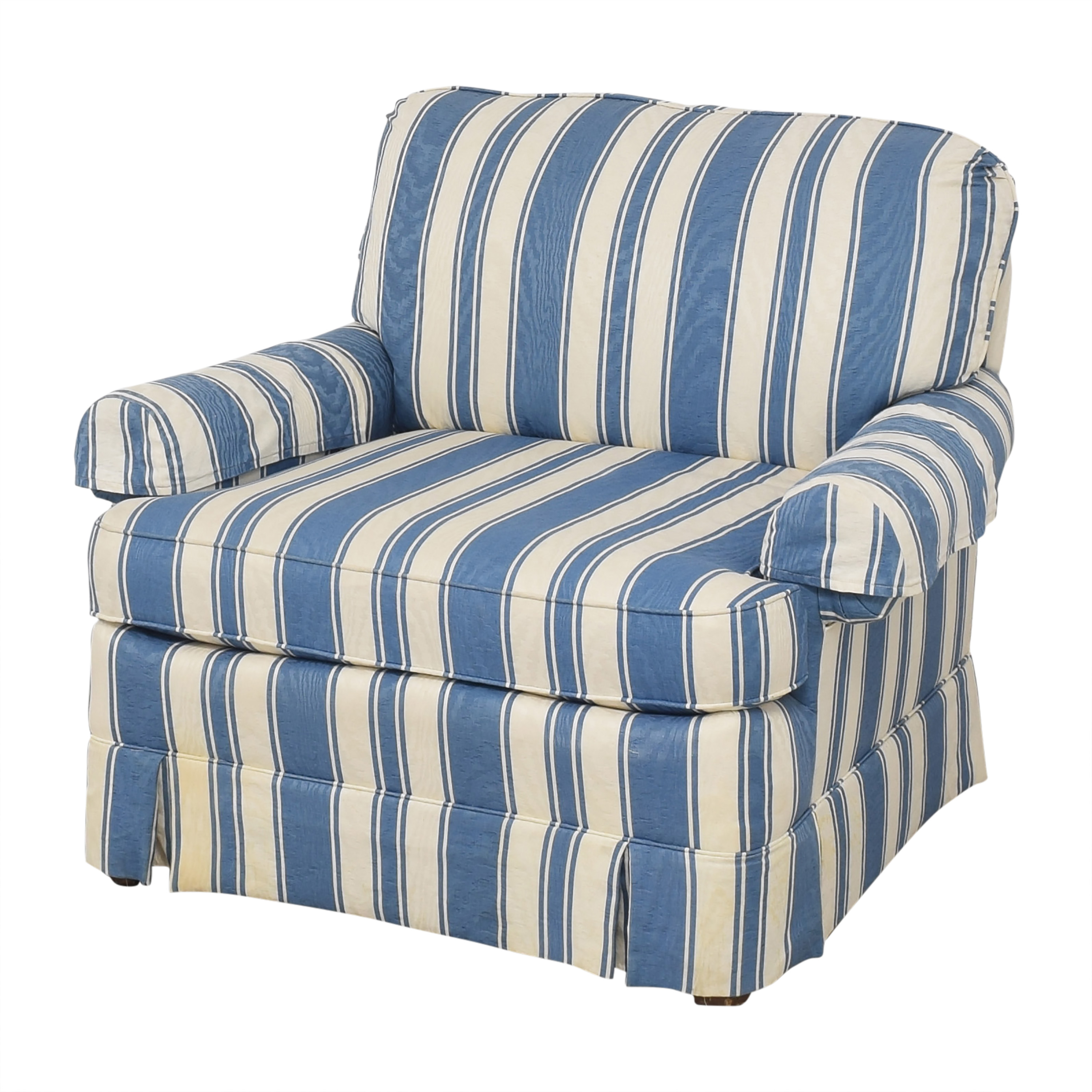 shop Clayton Marcus Clayton Marcus Striped Accent Chair online