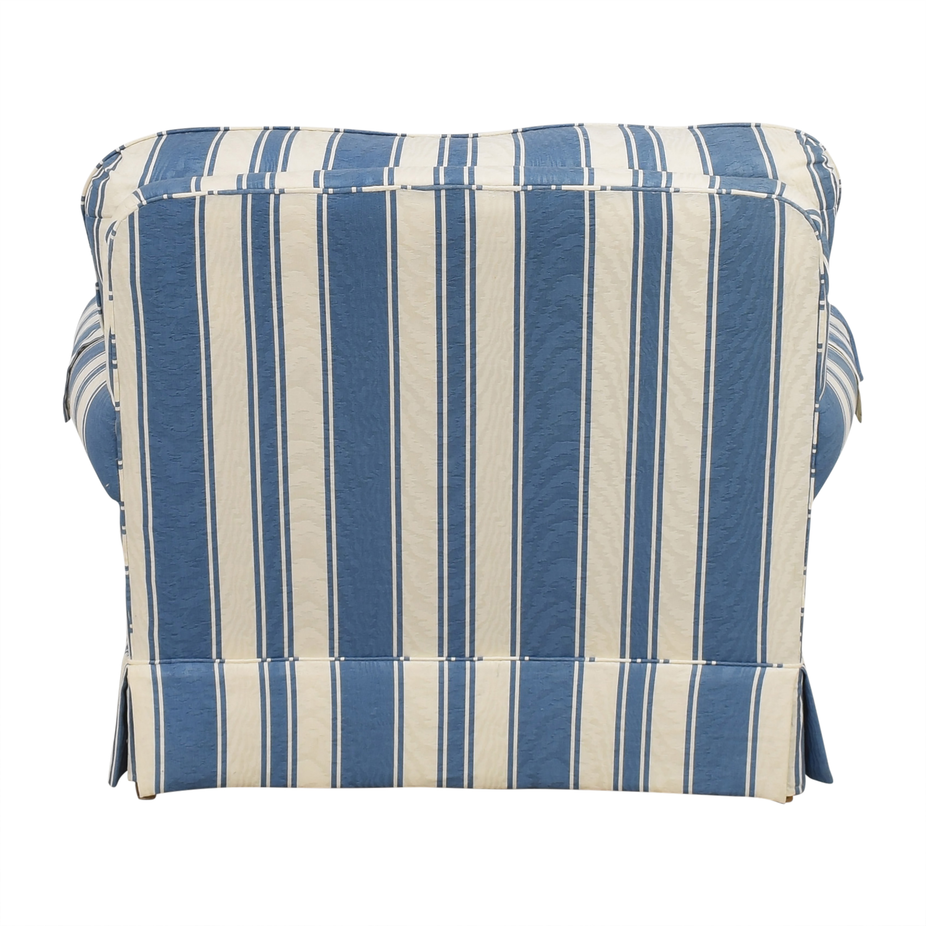 Clayton Marcus Striped Accent Chair sale