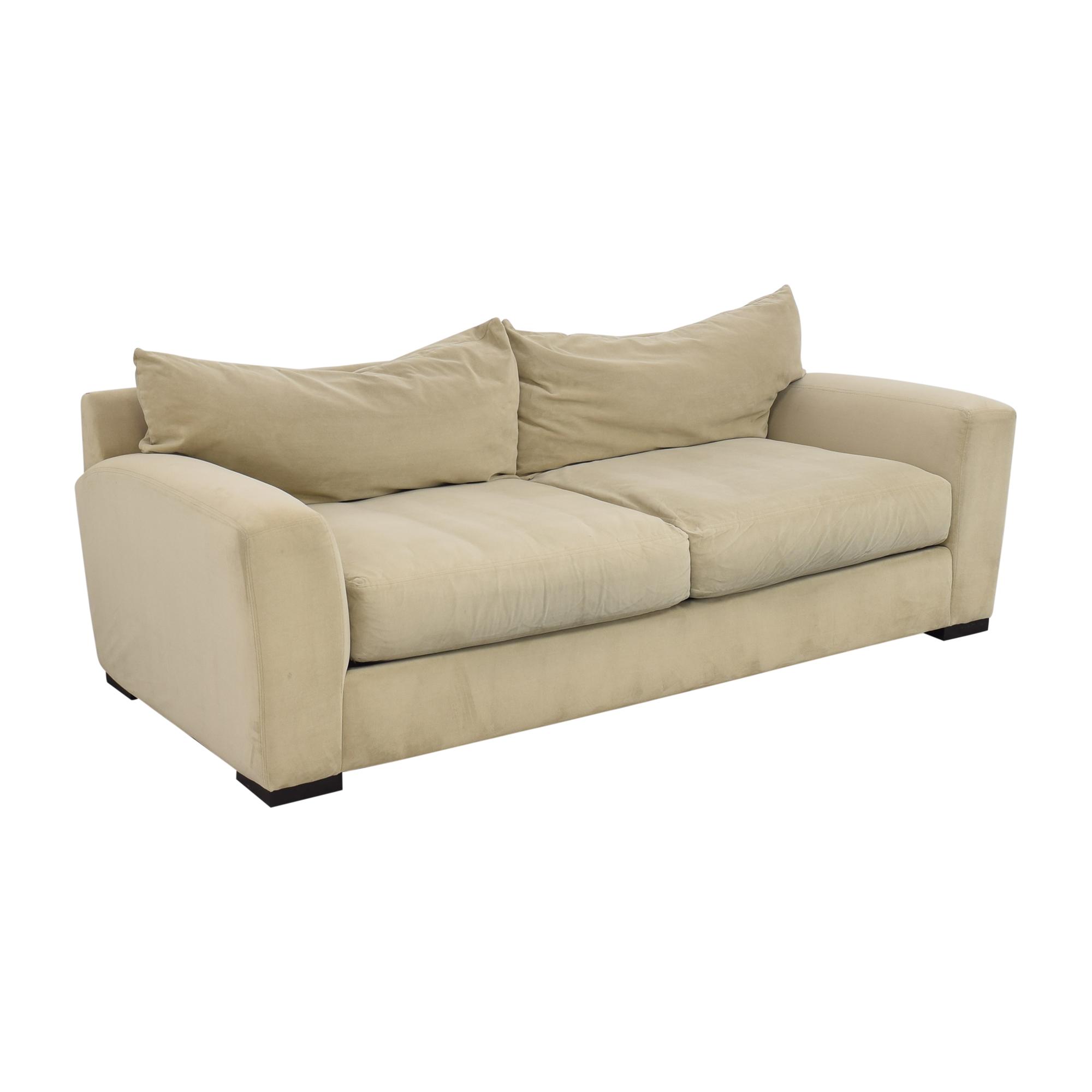 Raymour & Flanigan Raymour & Flanigan Two Cushion Sofa for sale