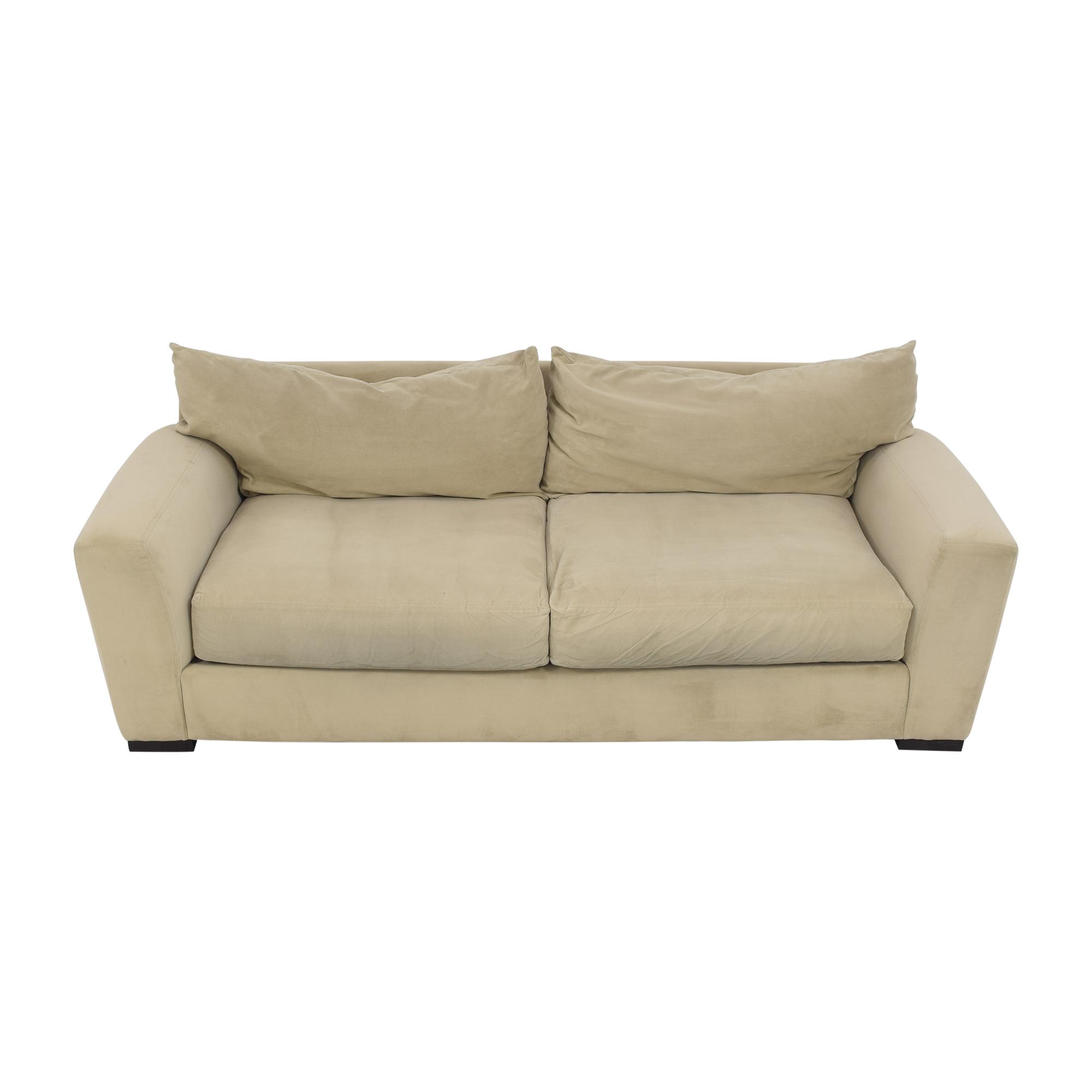 Raymour & Flanigan Raymour & Flanigan Two Cushion Sofa price