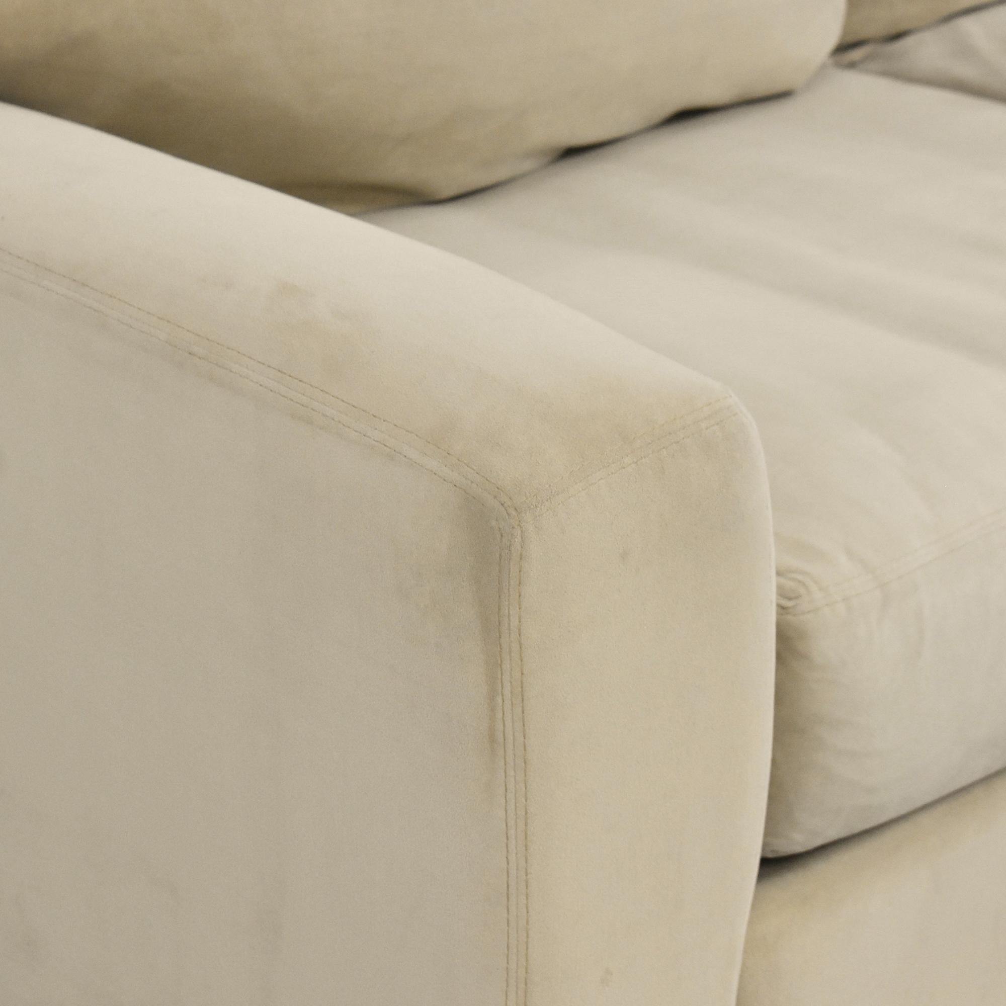 Raymour & Flanigan Raymour & Flanigan Two Cushion Sofa nyc