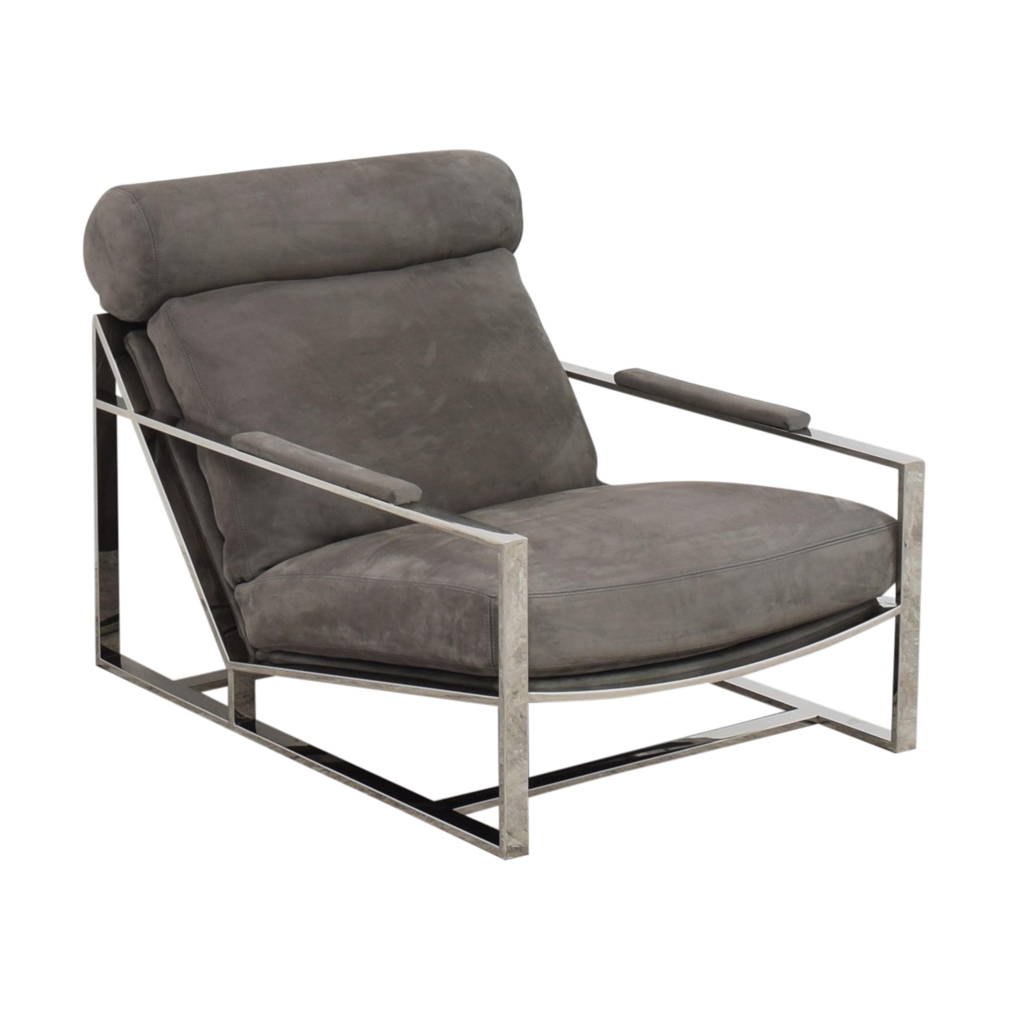 buy Restoration Hardware Restoration Hardware Milo Baughman Model #3418 Chair by Thayer Coggin online