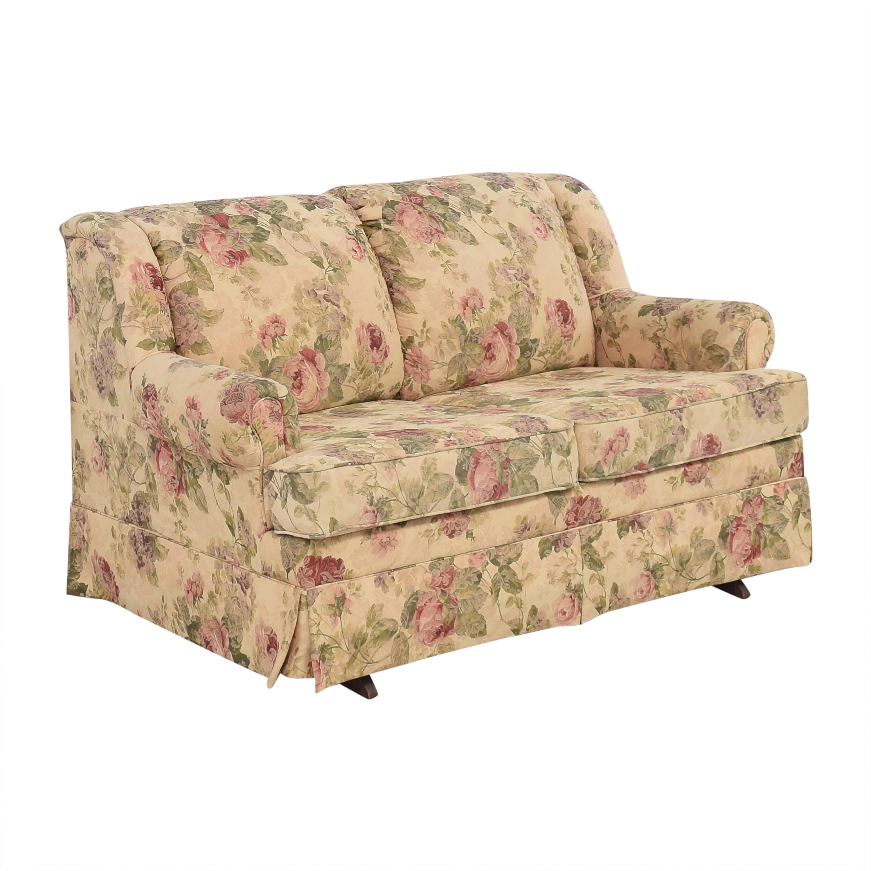 England Furniture England Rochelle Glider Loveseat for sale