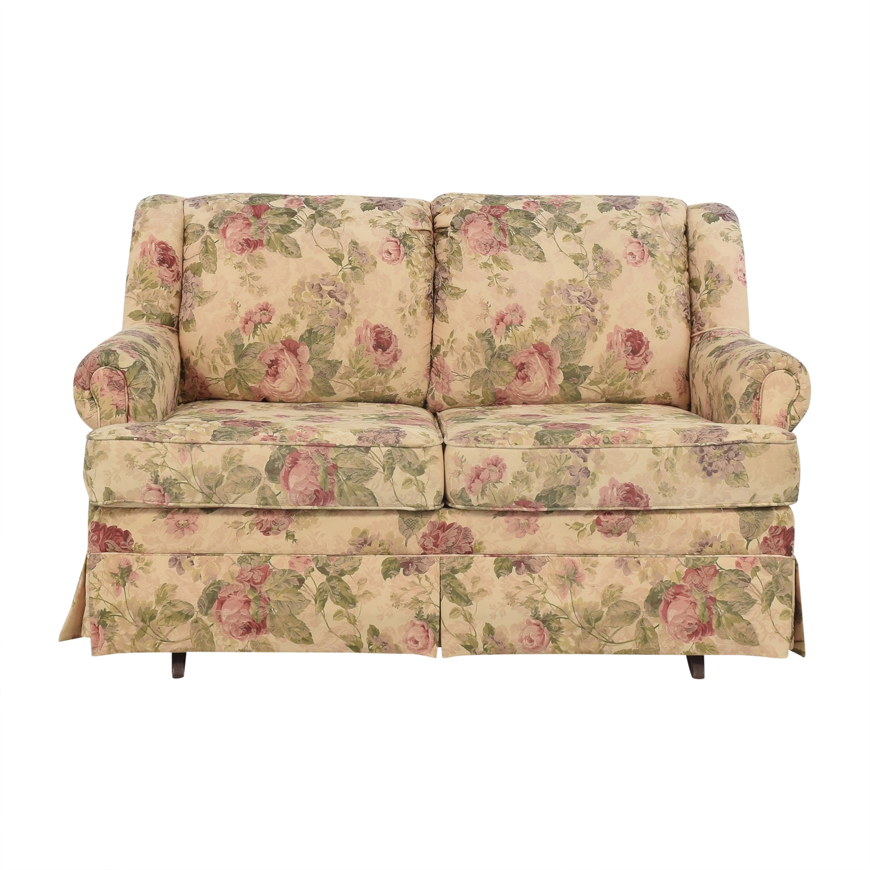England Furniture England Rochelle Glider Loveseat ct