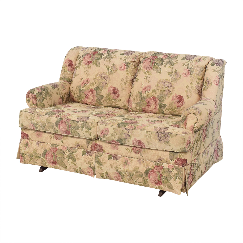 England Furniture England Rochelle Glider Loveseat second hand