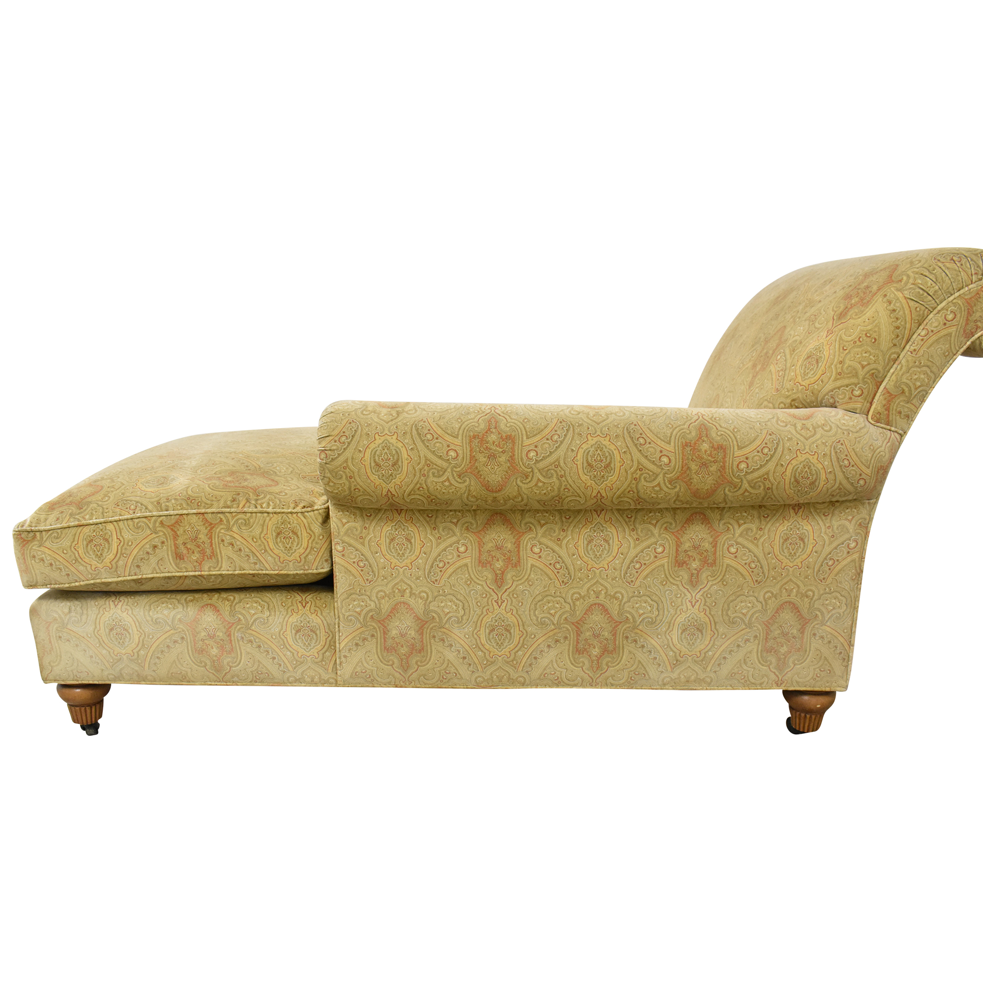 Custom Patterned Chaise second hand