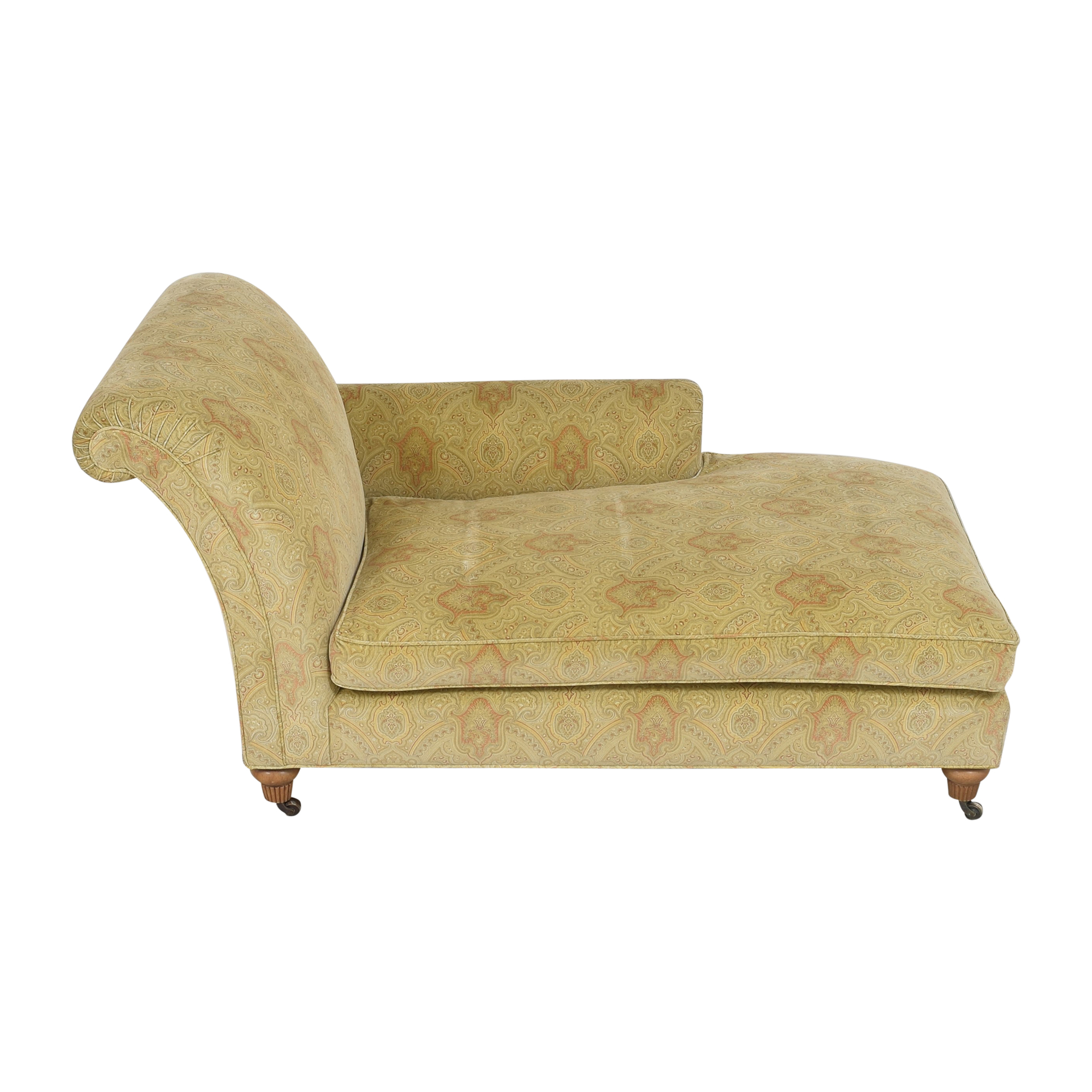 Custom Patterned Chaise discount
