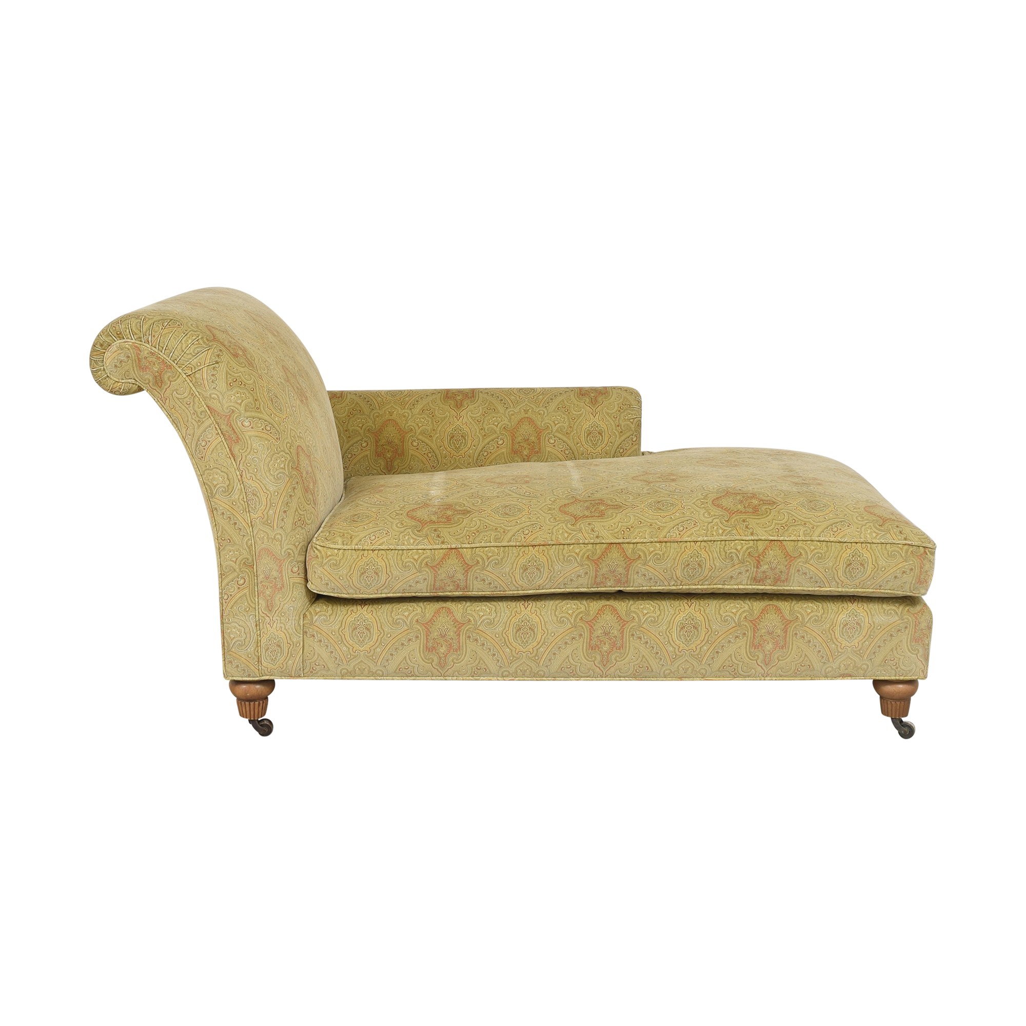 Custom Patterned Chaise price