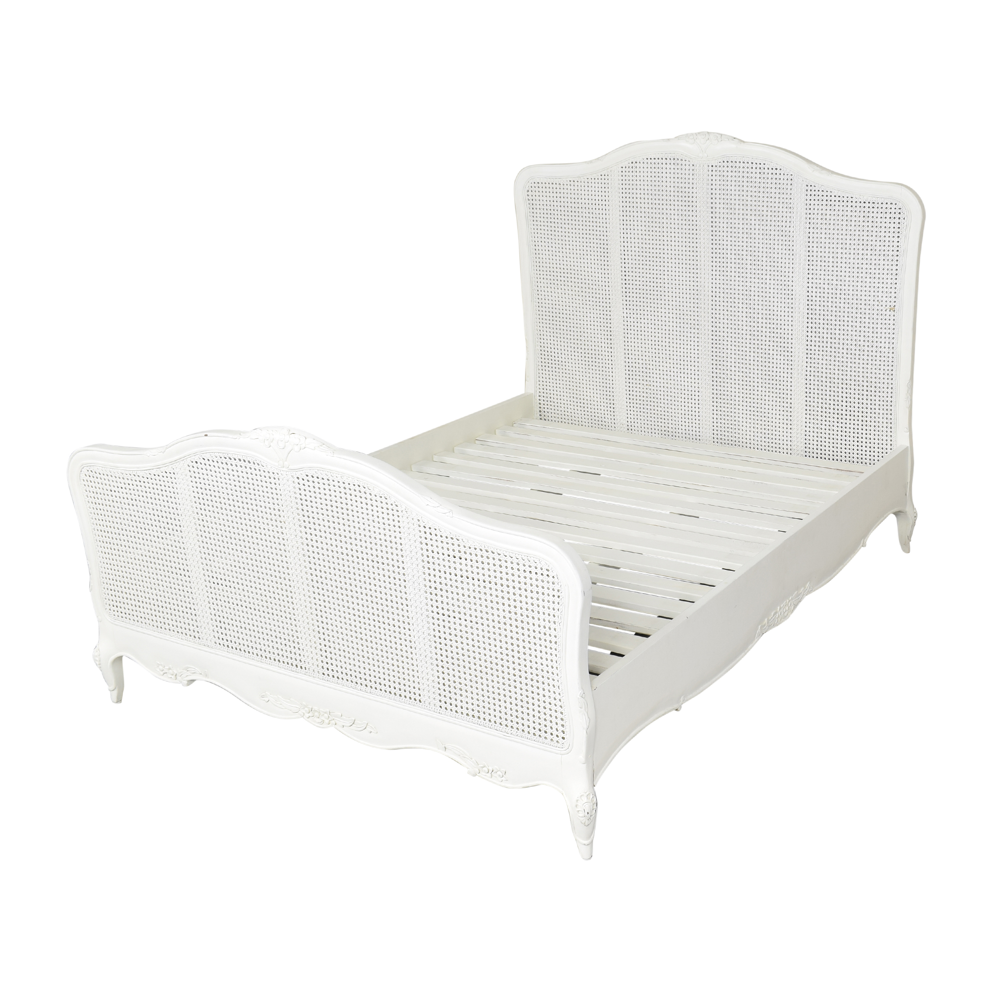 French-Style Queen Bed white