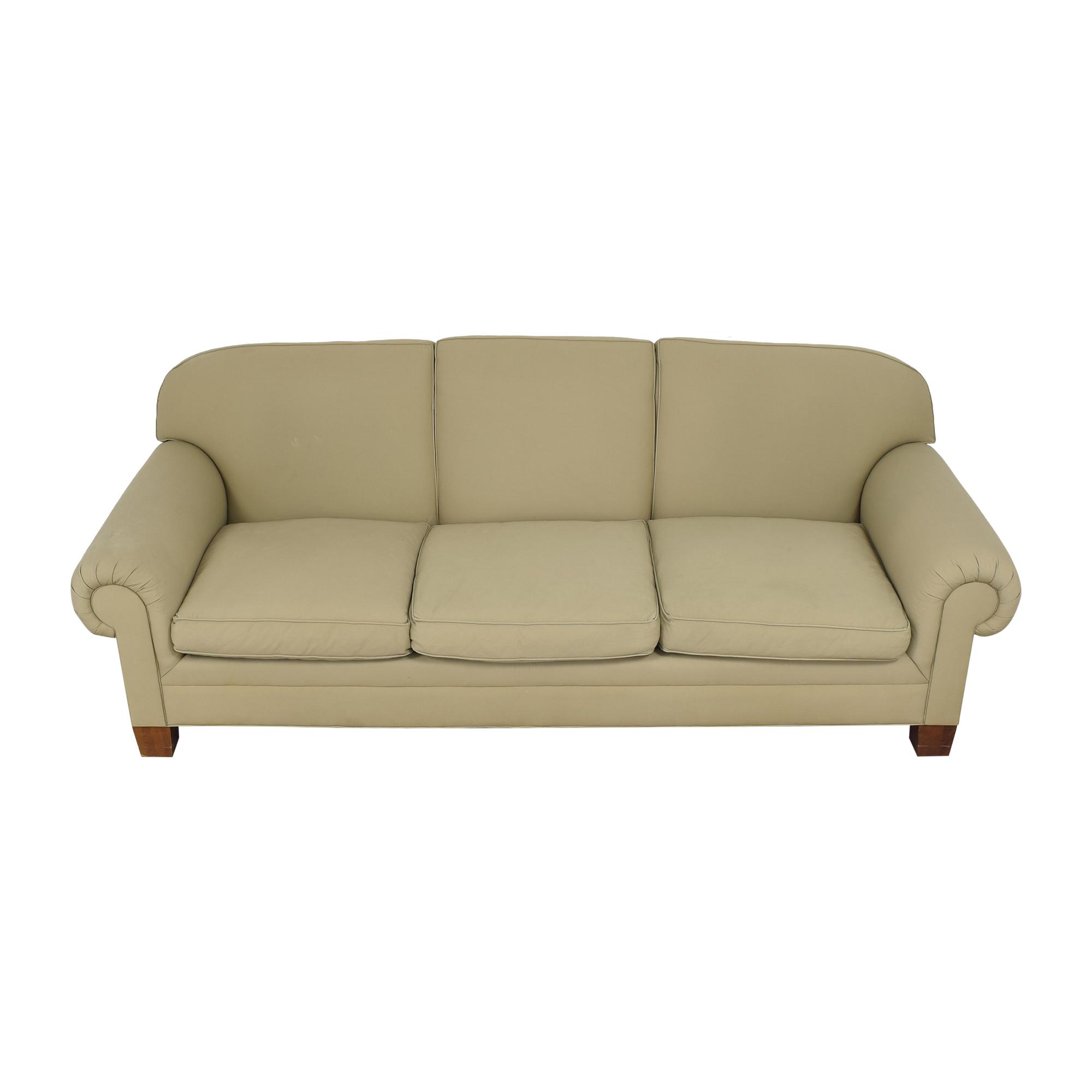 Ralph Lauren Home Ralph Lauren Roll Arm Sofa nj