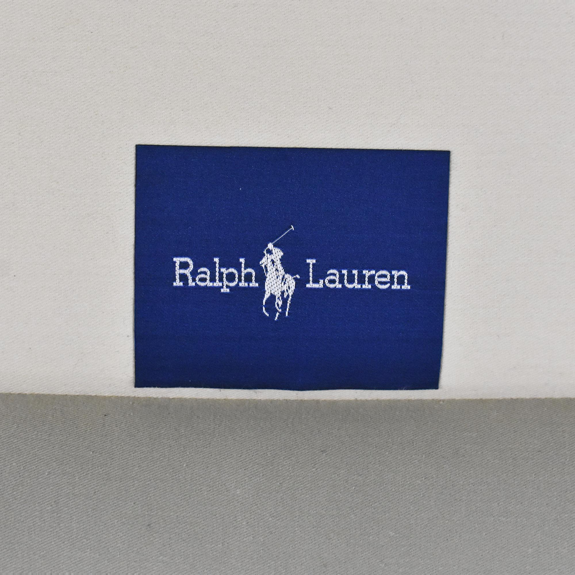Ralph Lauren Home Ralph Lauren Roll Arm Sofa dimensions