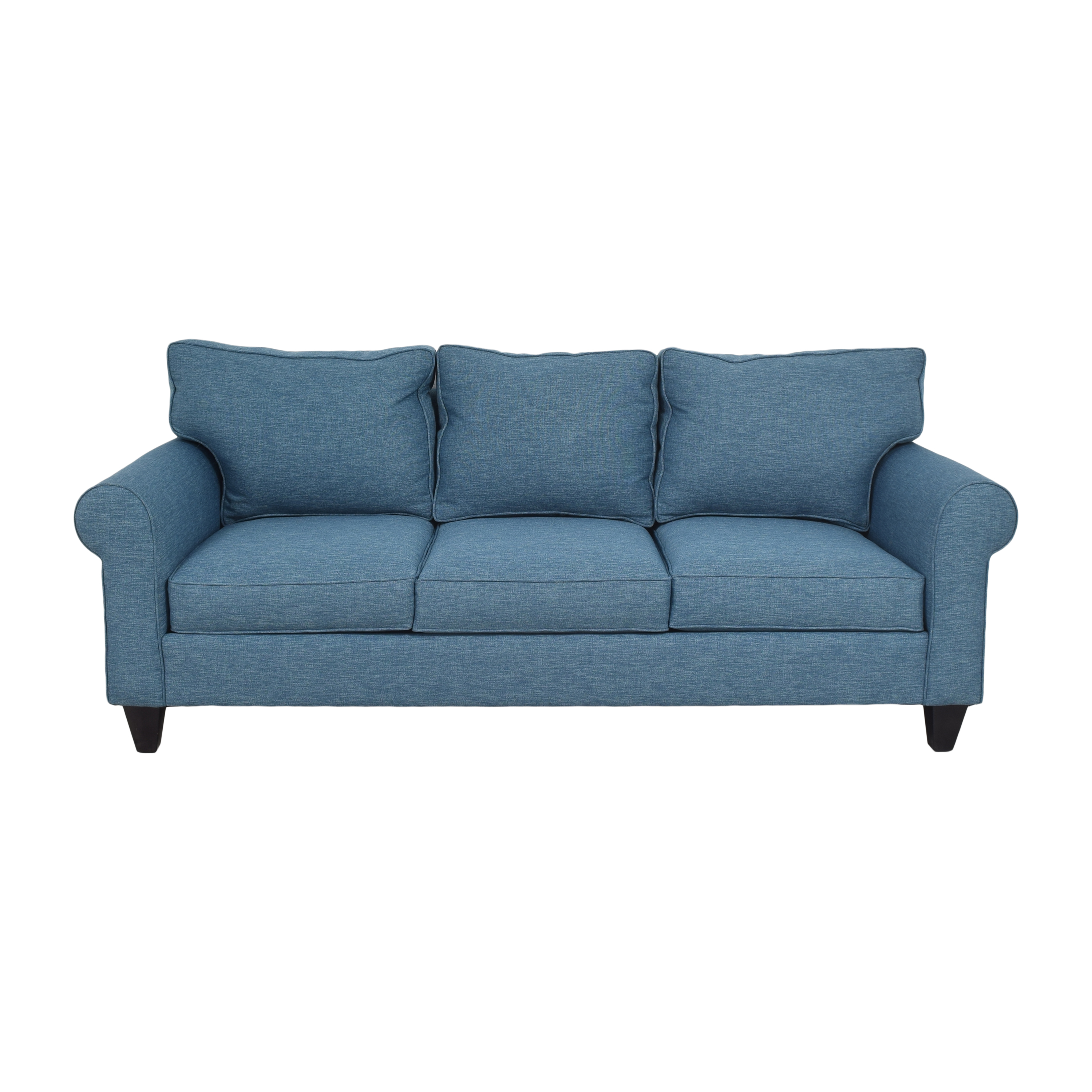 DreamSofa Dreamsofa Roll Arm Sofa blue