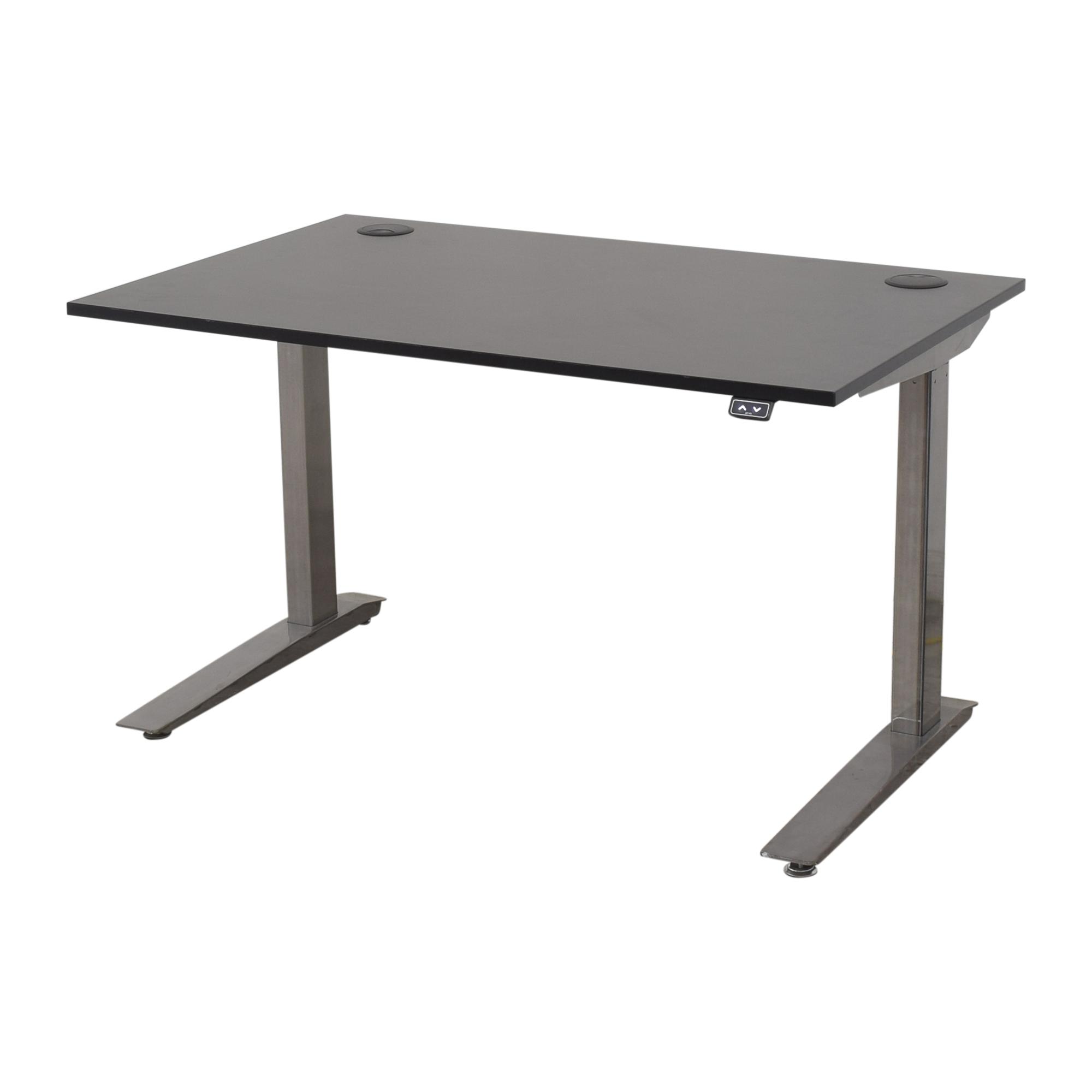 Fully Fully Jarvis Standing Desk black & sliver