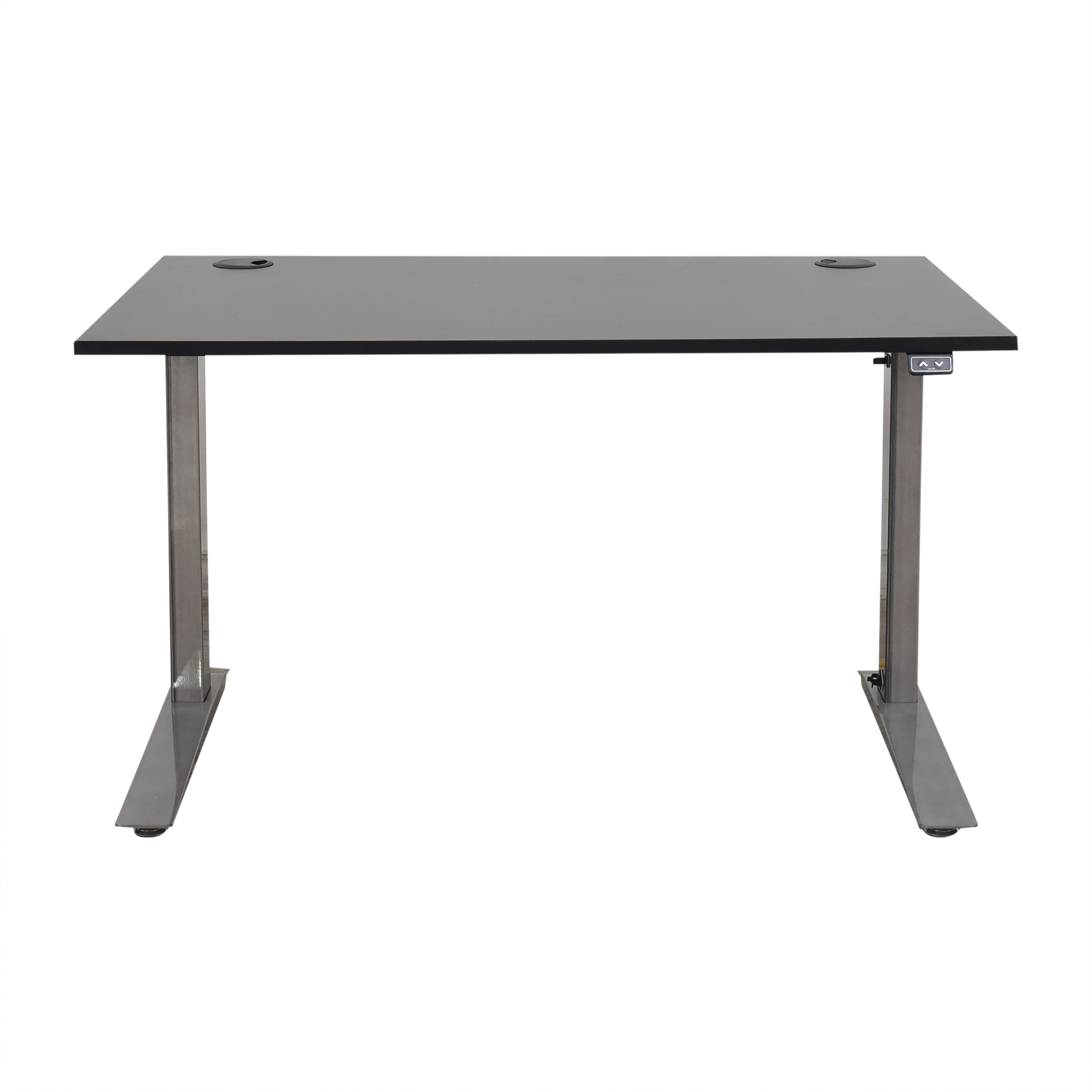 Fully Fully Jarvis Standing Desk black & silver