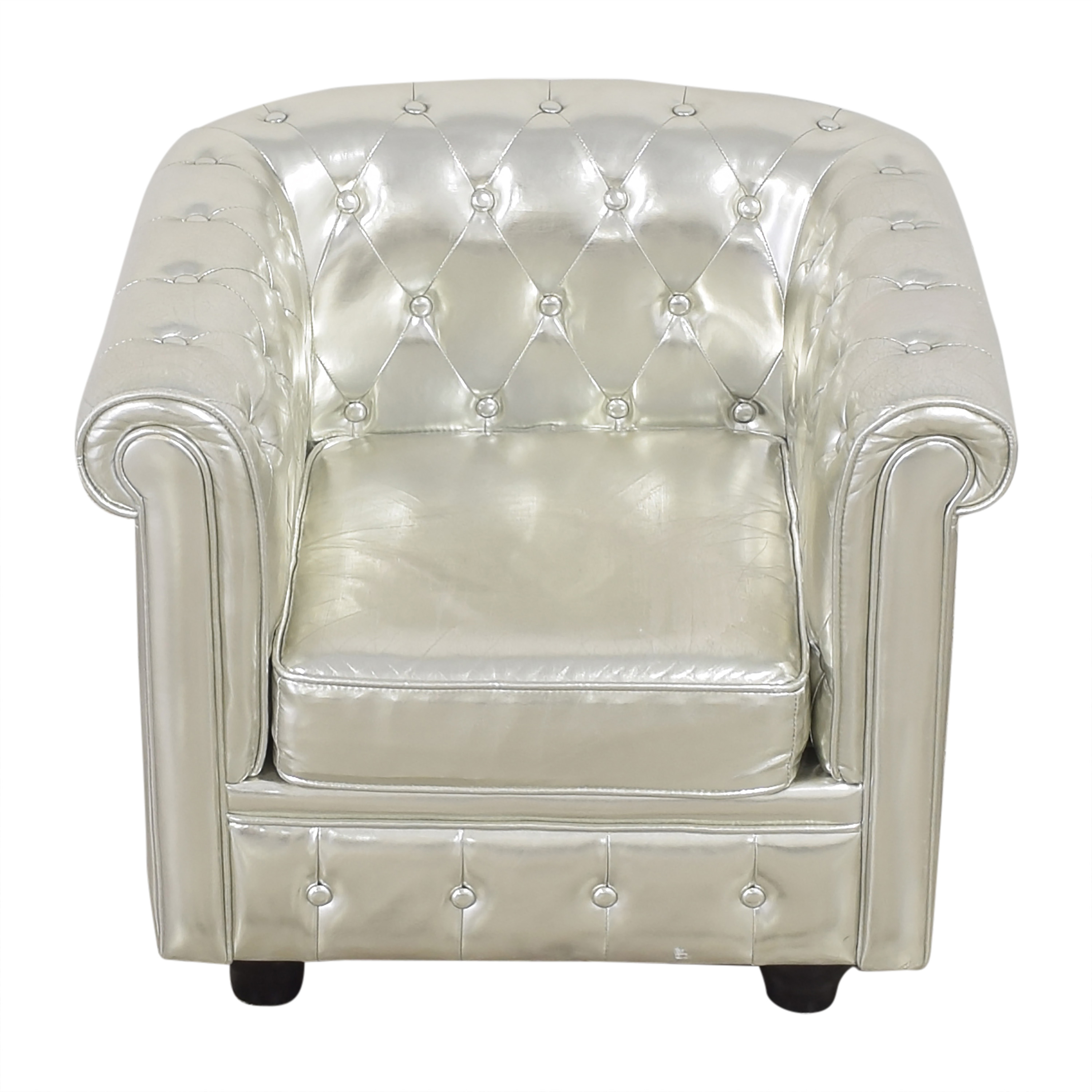 Tufted Club Chair dimensions