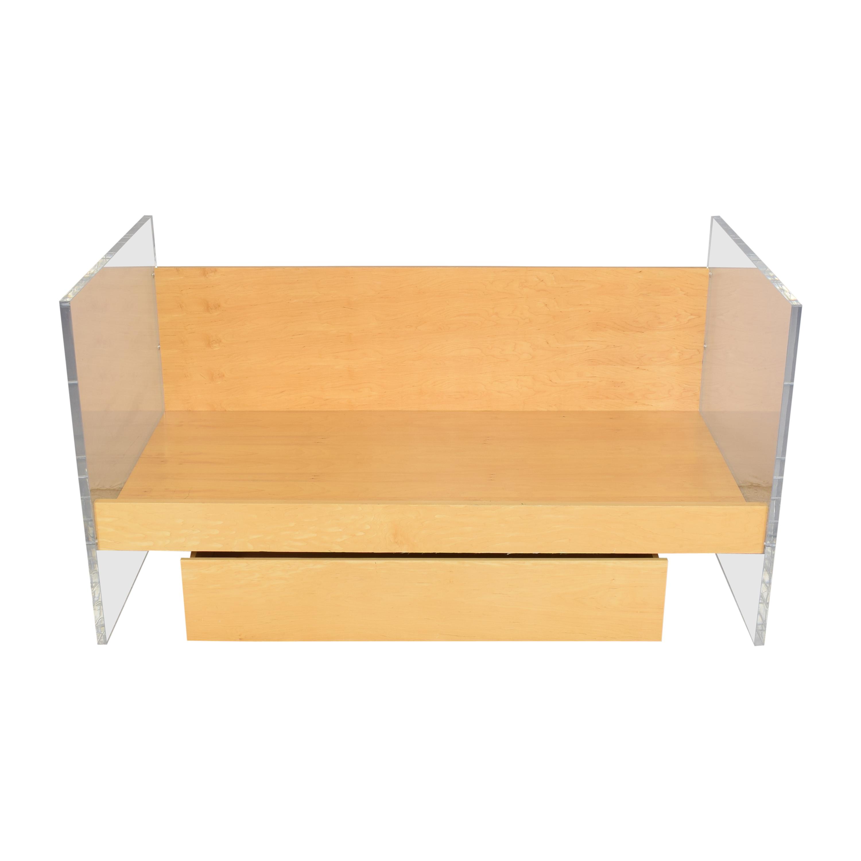 Custom Twin Storage Bed sale
