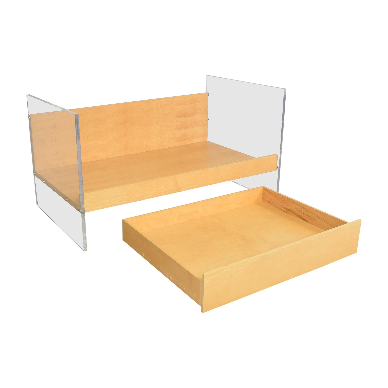 Custom Twin Storage Bed dimensions