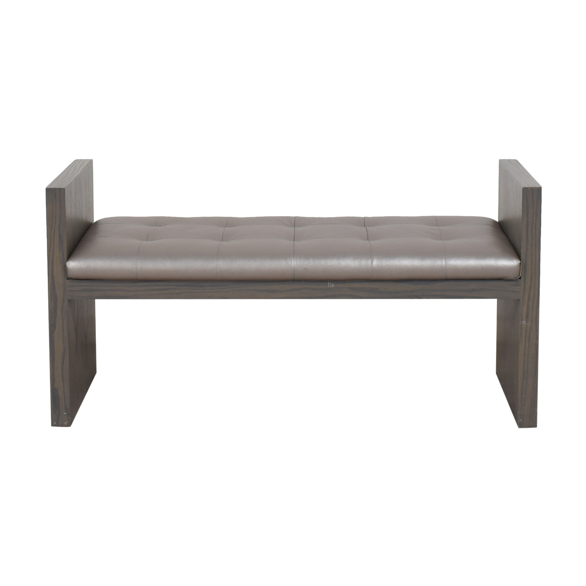 Custom Tufted Bench discount