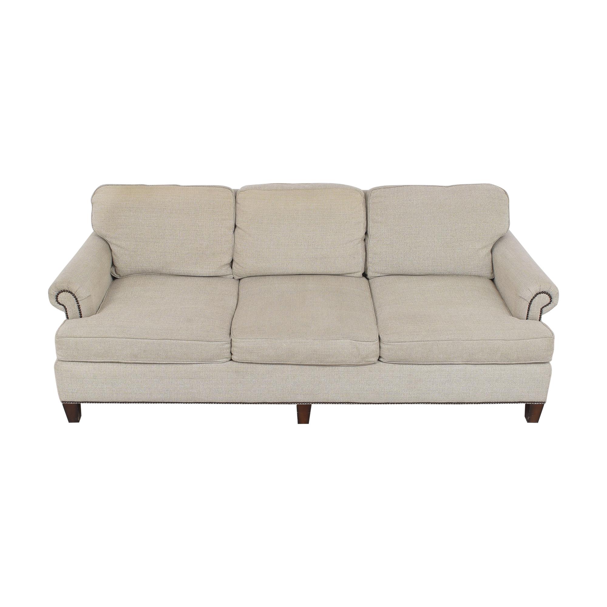 Bernhardt Bernhardt Roll Arm Nailhead Sofa Sofas