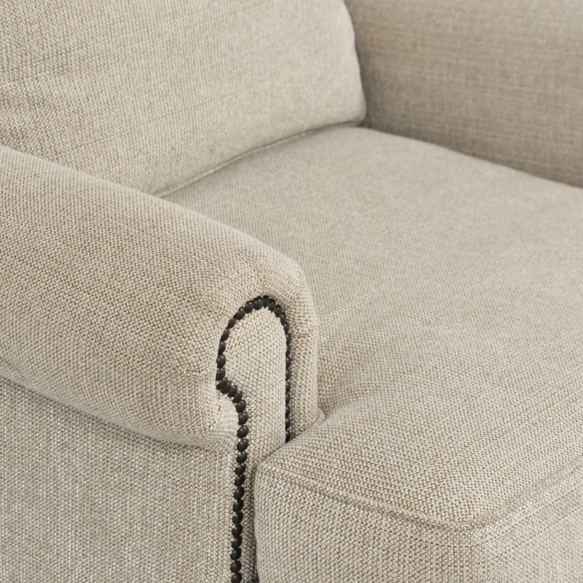 Bernhardt Bernhardt Nailhead Trim Armchair Accent Chairs