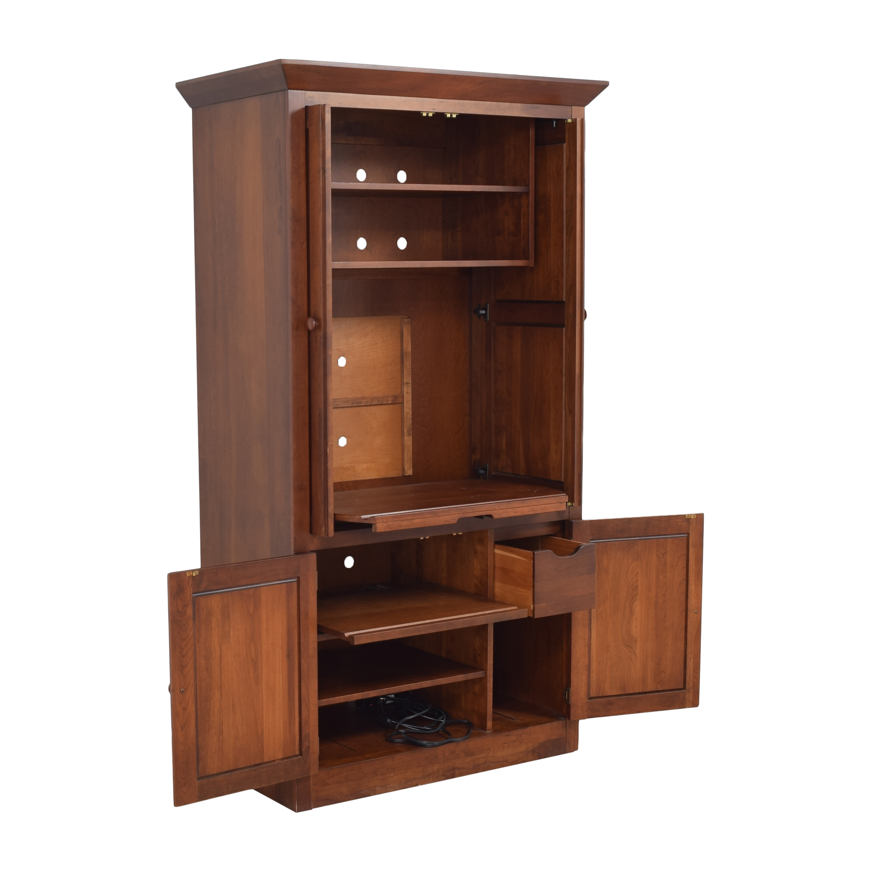 Ethan Allen Ethan Allen American Impressions Media Armoire Storage