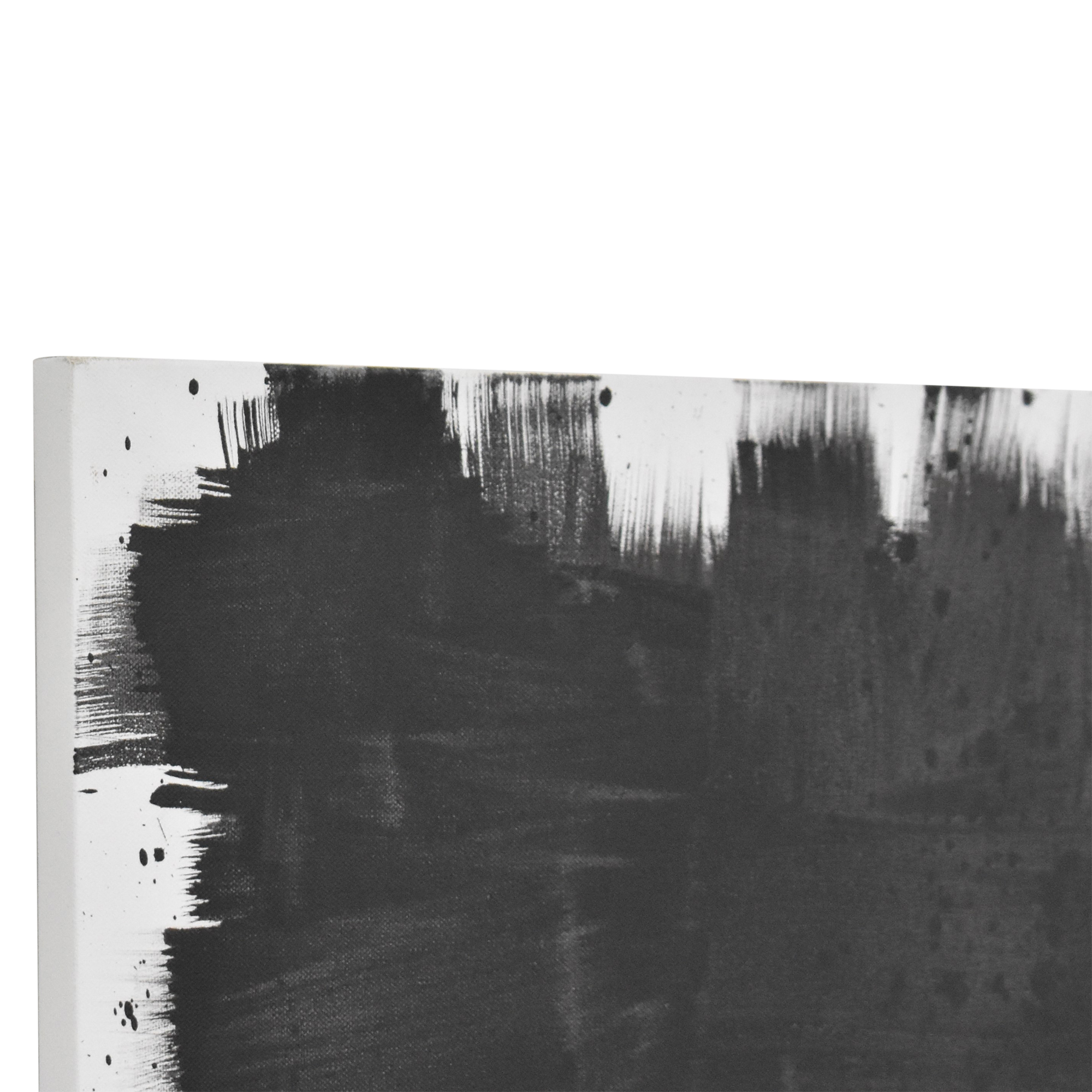 Abstract Wall Art black and white