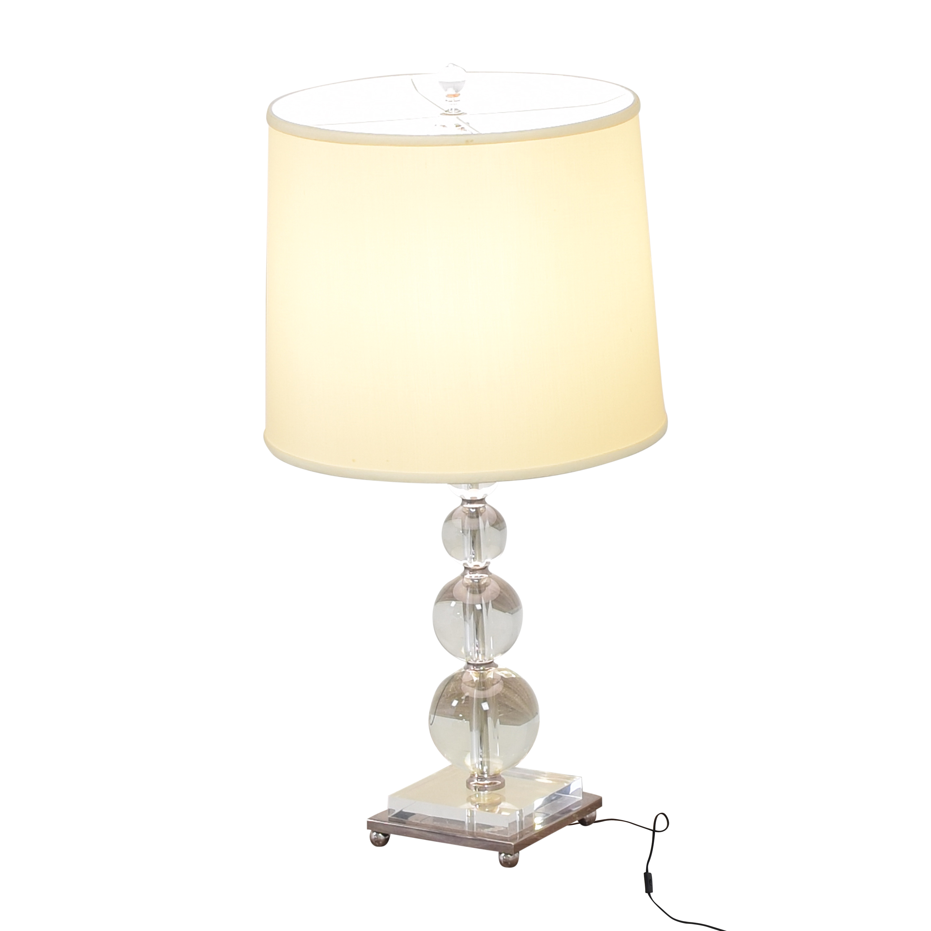 Stacked Ball Table Lamp / Decor