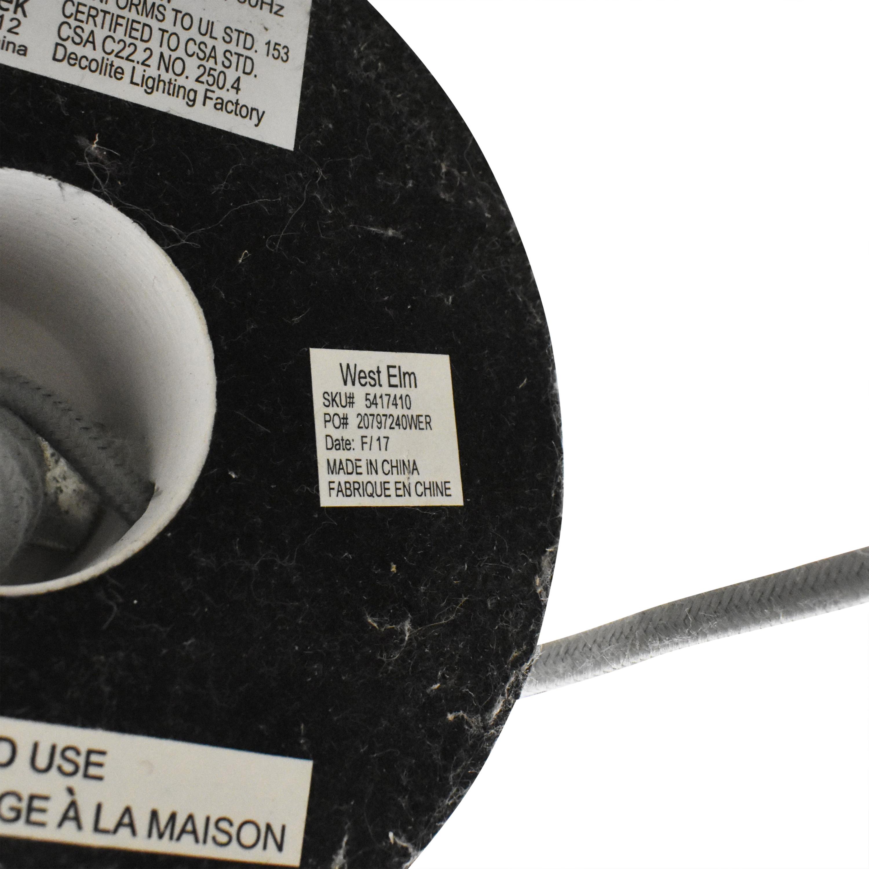 West Elm West Elm Sphere & Stem Two Light Floor Lamp price
