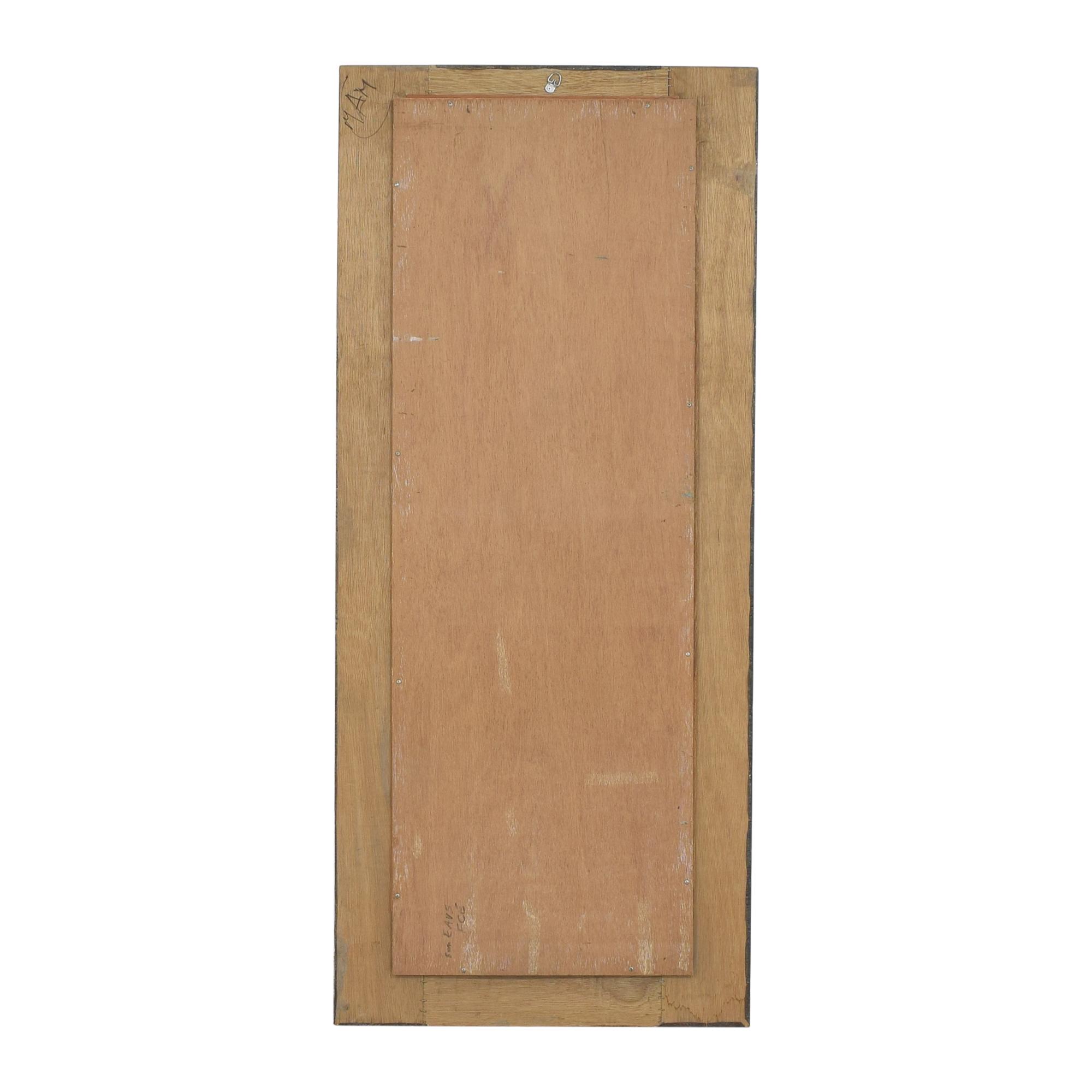 Vintage Style Floor Mirror used