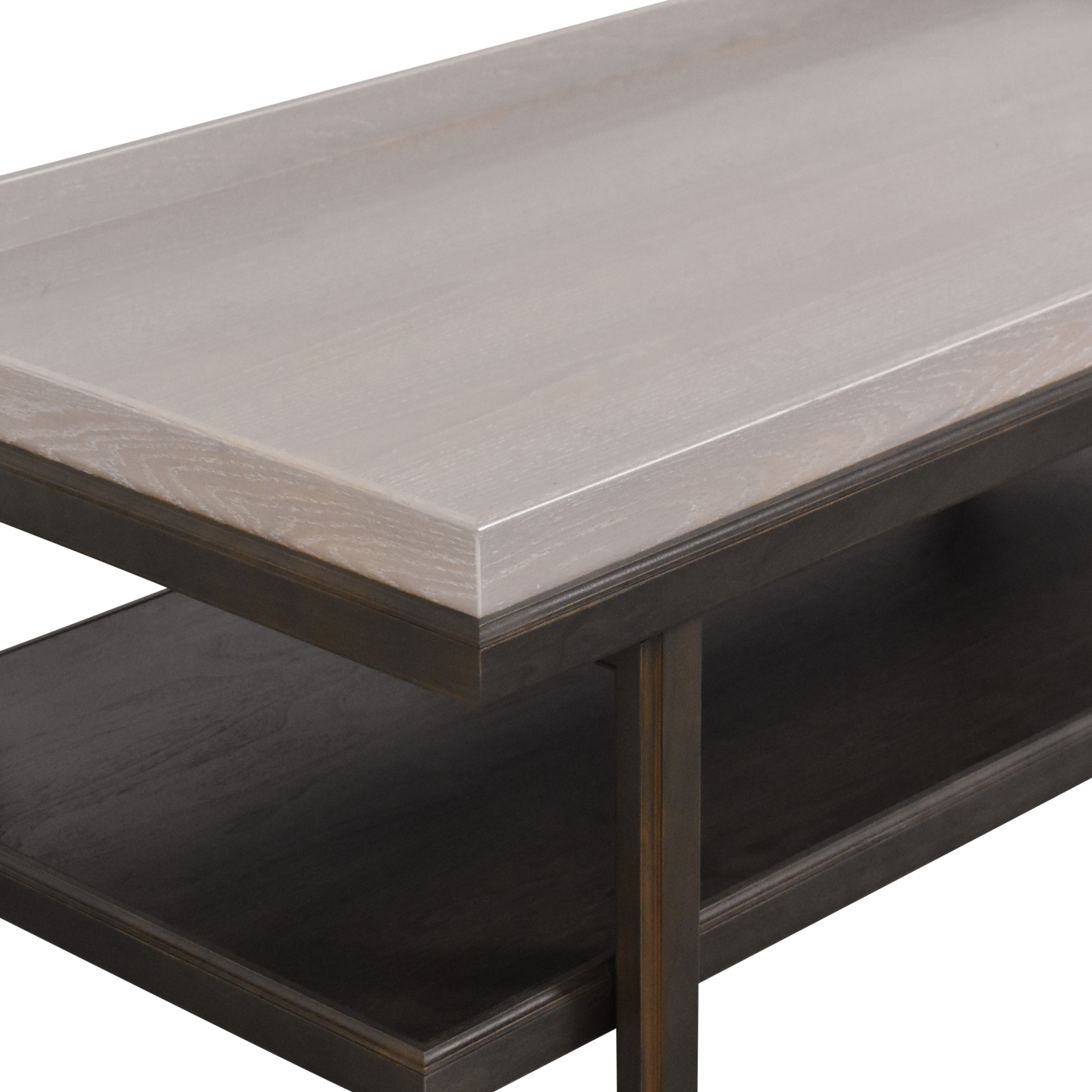 The New Traditionalists The New Traditionalists Tray Top Coffee Table second hand