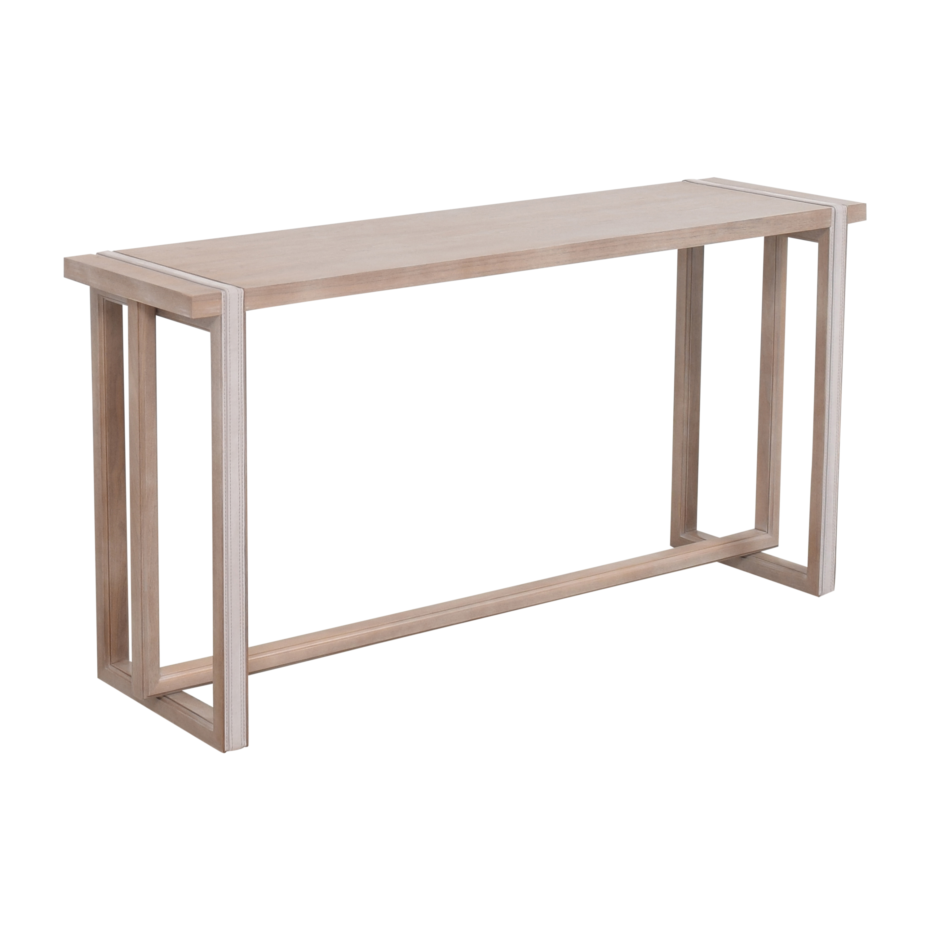 The New Traditionalists The New Traditionalists Console Table with Belt Detail ma