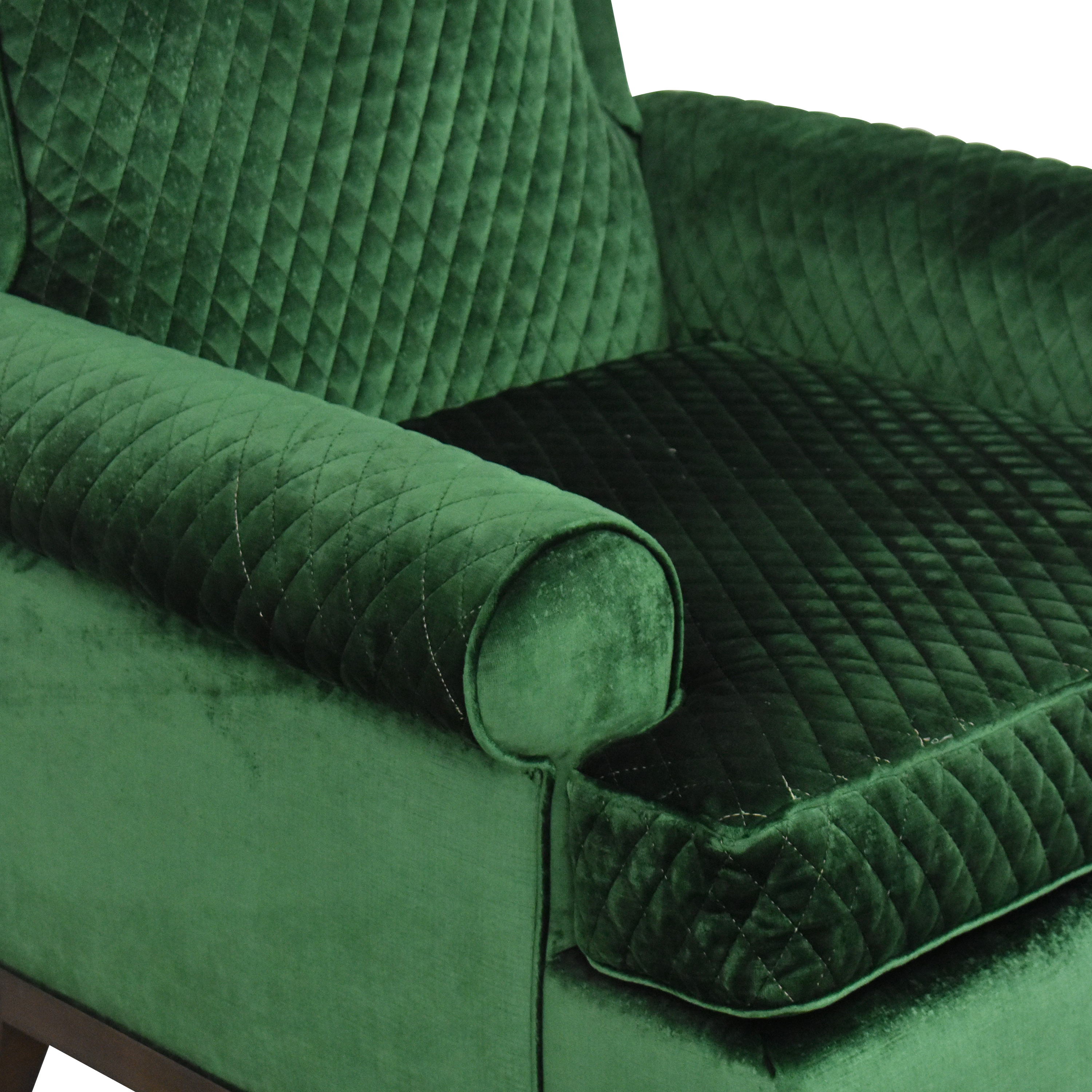 The New Traditionalists The New Traditionalists Quilted Arm Chair price