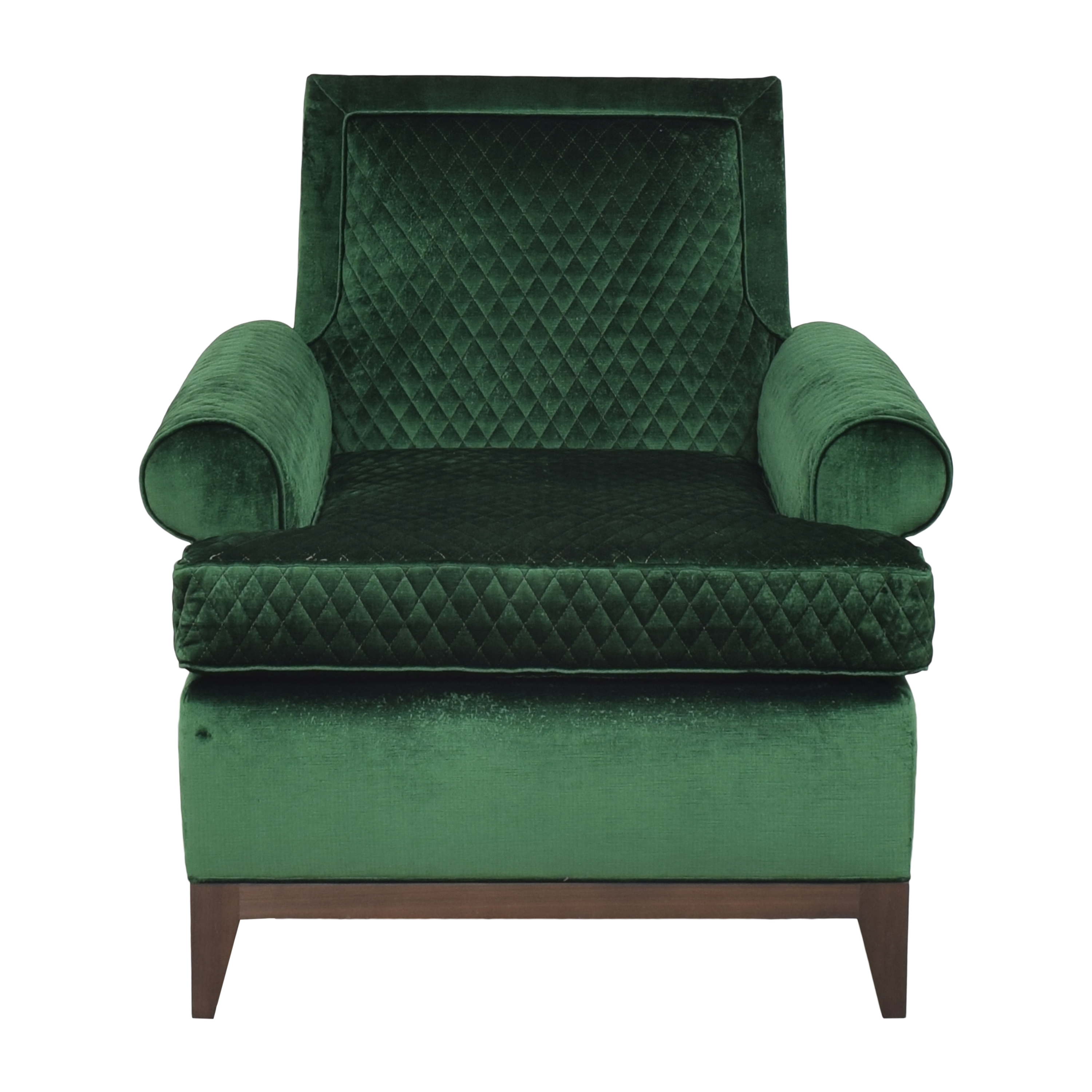 shop The New Traditionalists Quilted Arm Chair The New Traditionalists