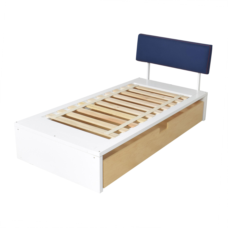 ducduc Alex Symmetric Platform Twin Bed / Bed Frames