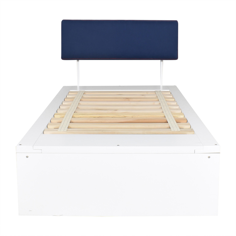 ducduc ducduc Alex Symmetric Platform Twin Bed Bed Frames