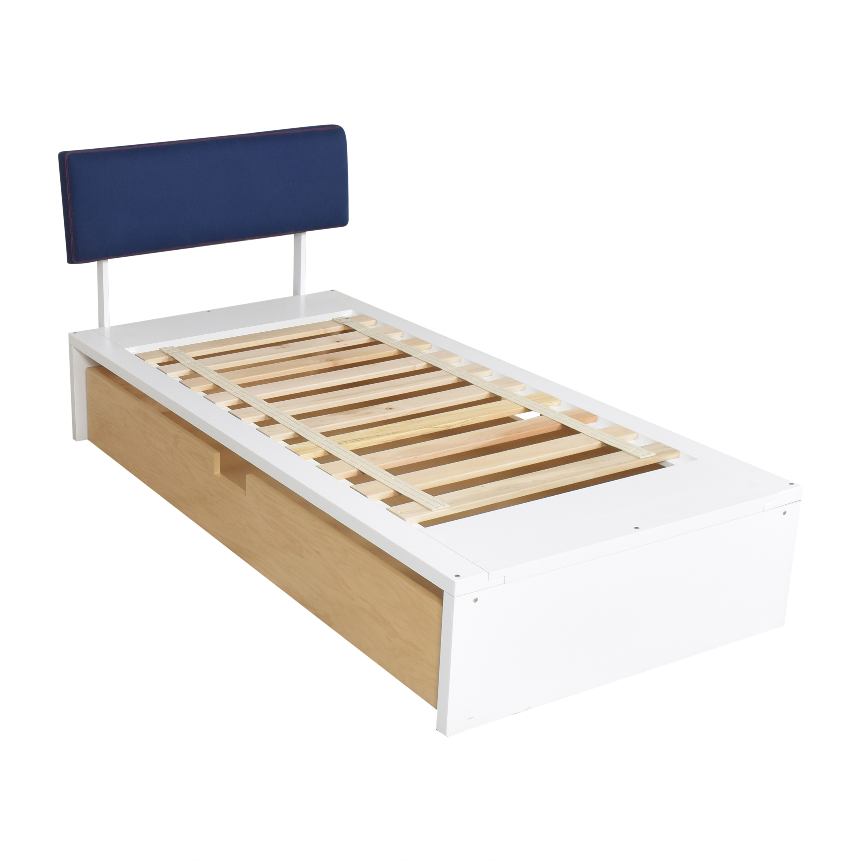 ducduc ducduc Alex Symmetric Platform Twin Bed ma