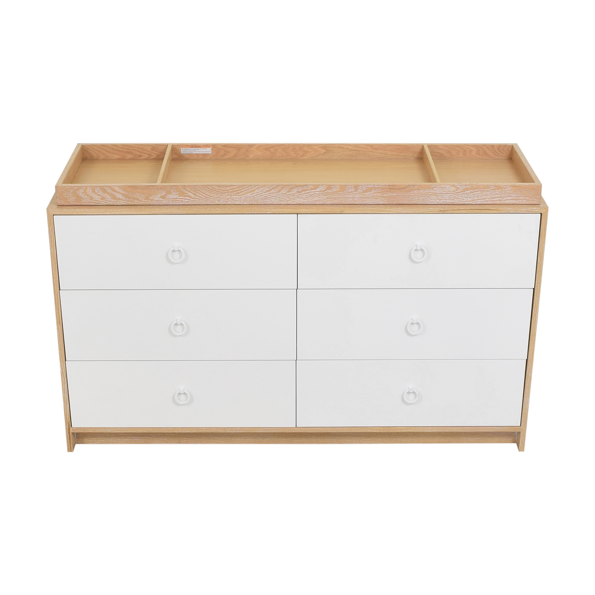 shop ducduc Cabana Doublewide Six Drawer Dresser ducduc Storage