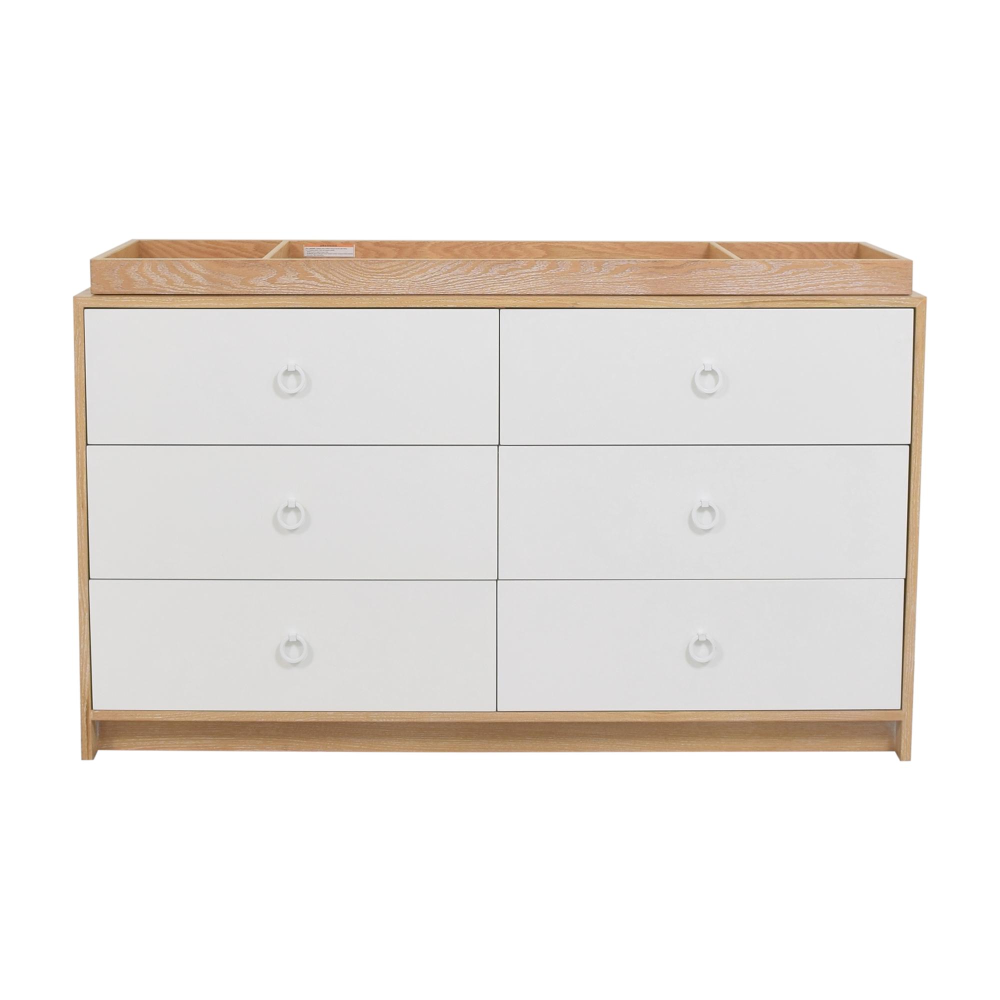 ducduc ducduc Cabana Doublewide Six Drawer Dresser