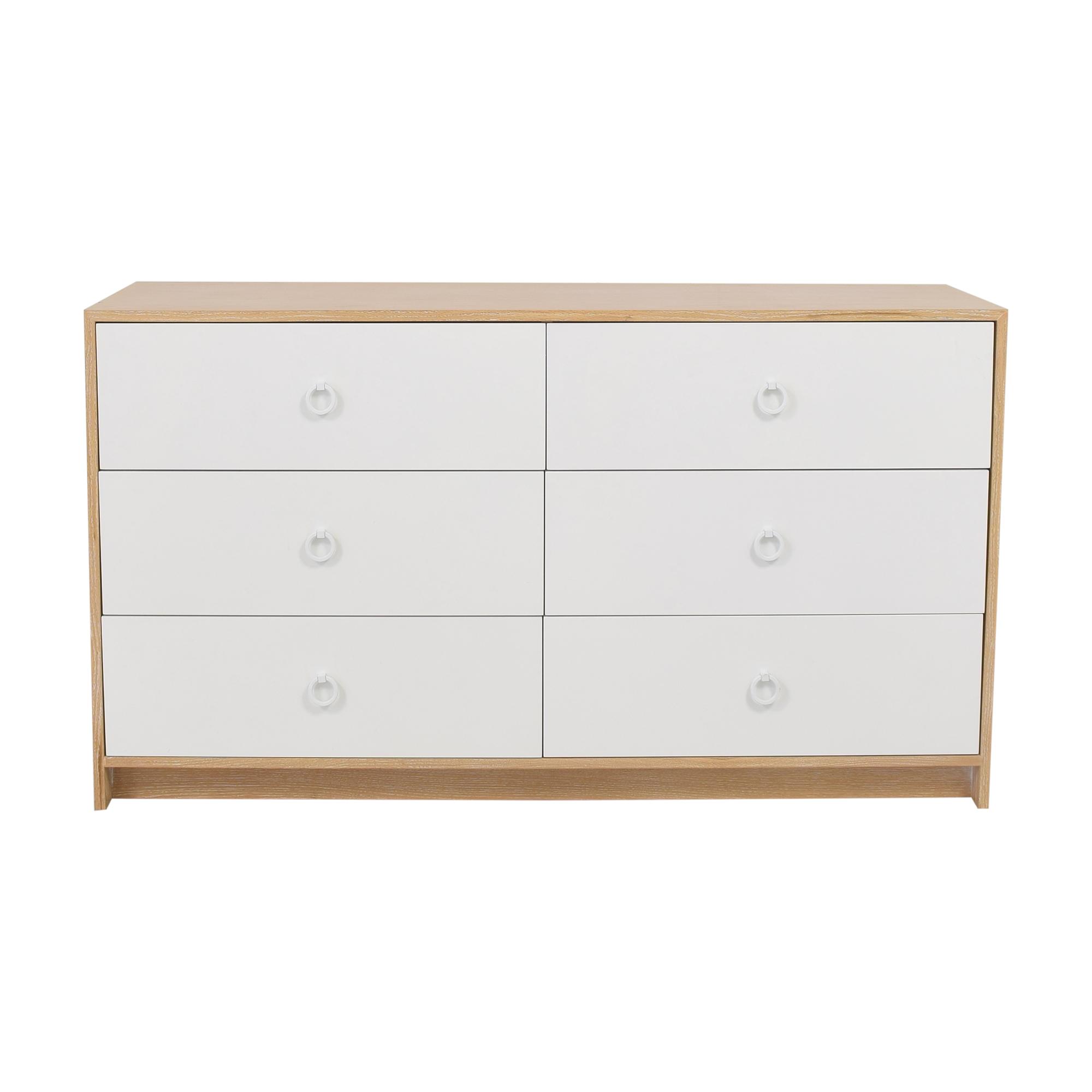 ducduc ducduc Cabana Doublewide Six Drawer Dresser discount