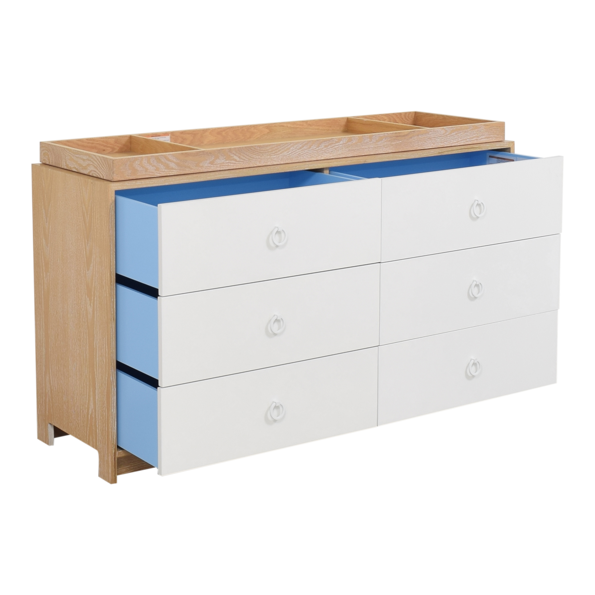 ducduc ducduc Cabana Doublewide Six Drawer Dresser ct