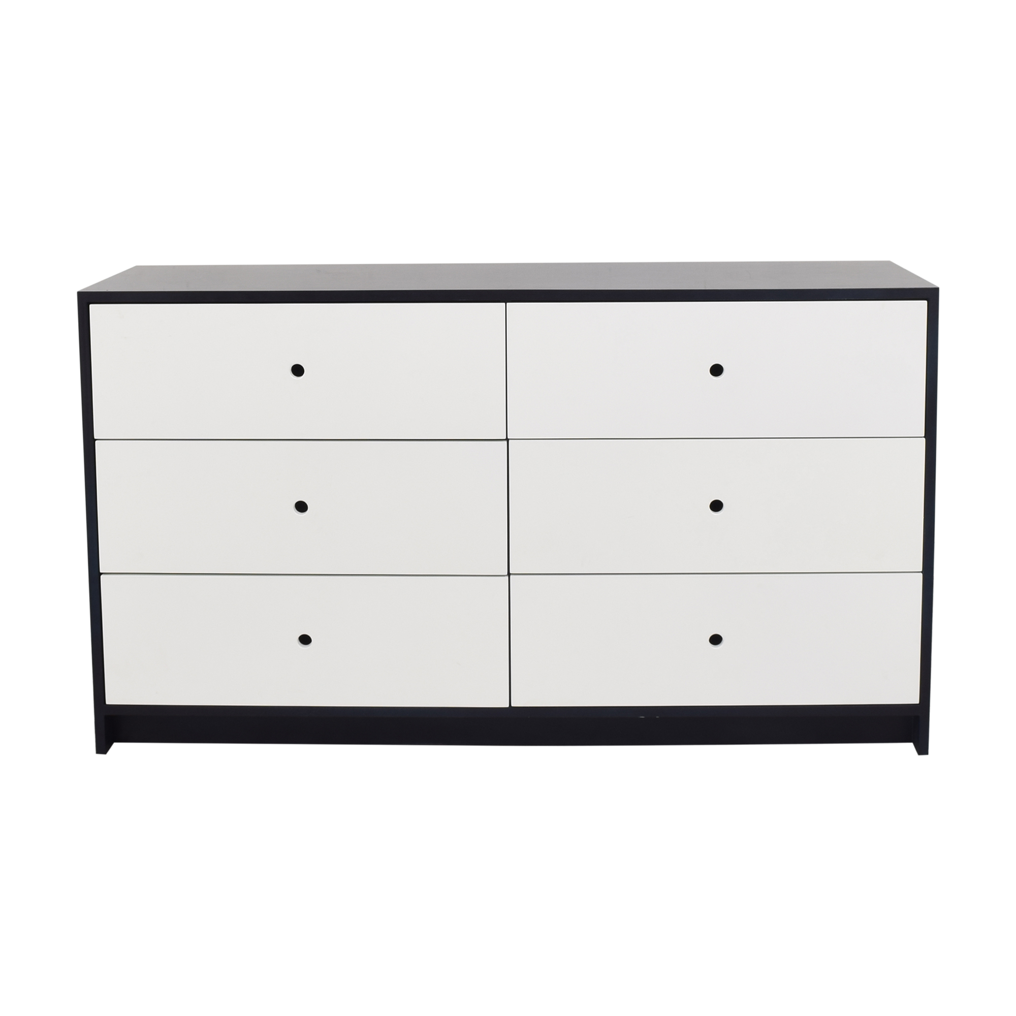 ducduc Parker Six Drawer Dresser with Changing Tray ducduc