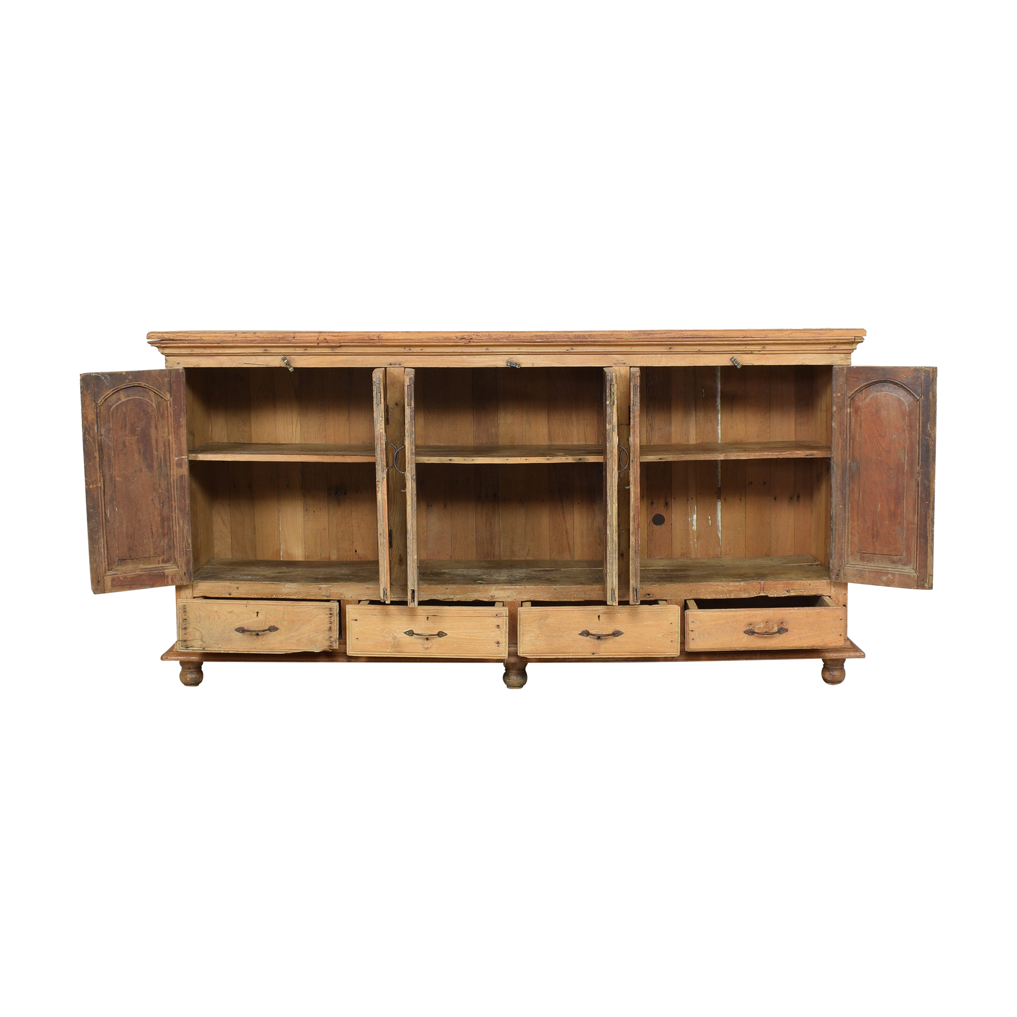 ABC Carpet & Home ABC Carpet & Home Rustic Sideboard light brown