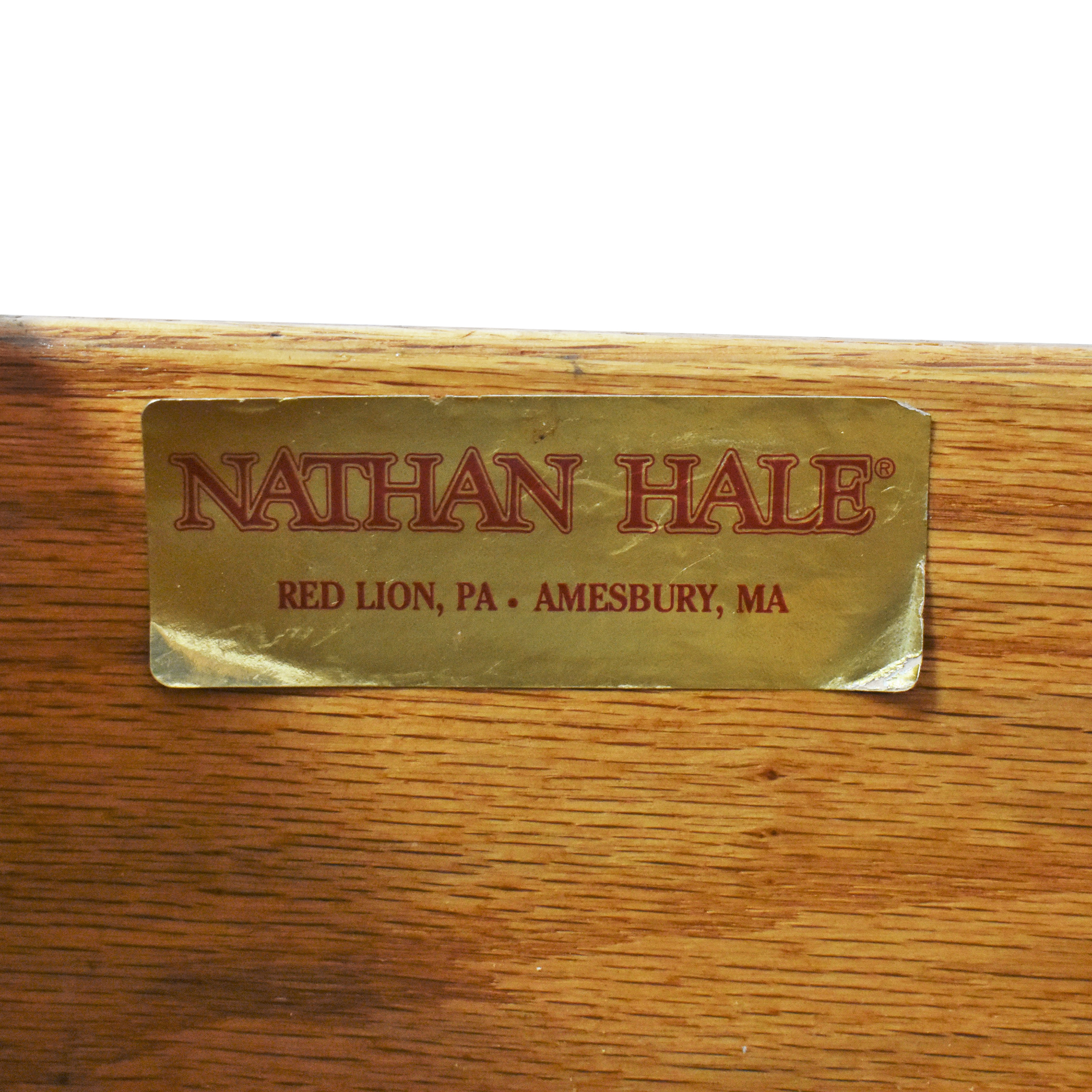 Nathan Hale Nathan Hale Five Drawer Armoire for sale