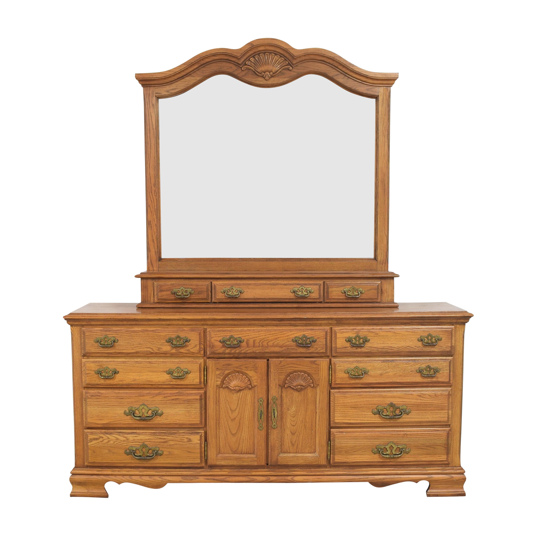 Broyhill Furniture Broyhill Furniture Triple Dresser with Mirror