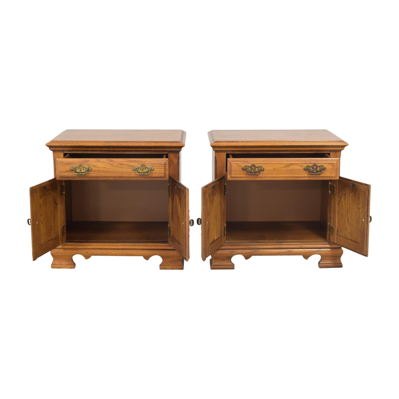 Two Door Nightstands brown