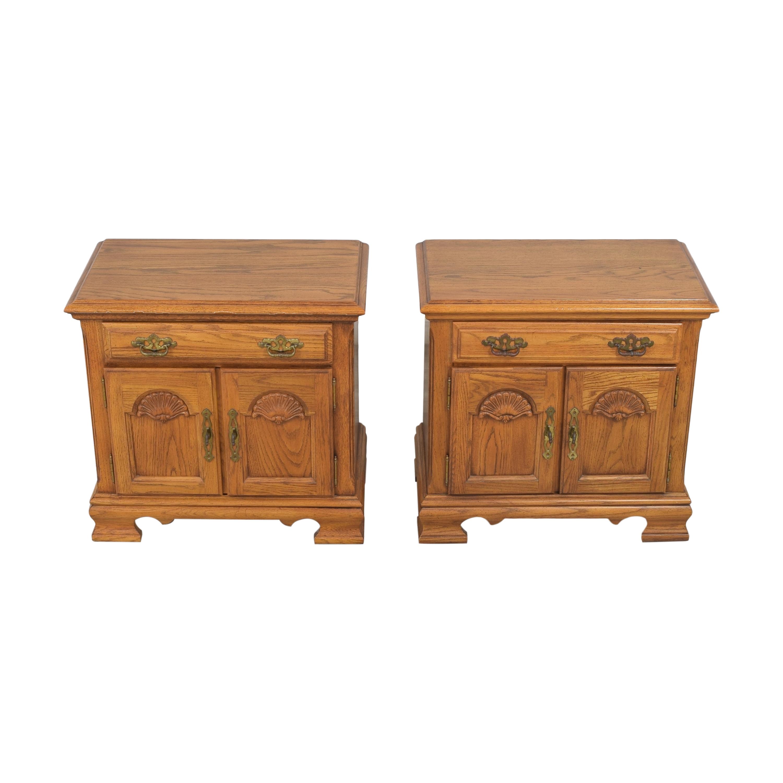 Two Door Nightstands Tables