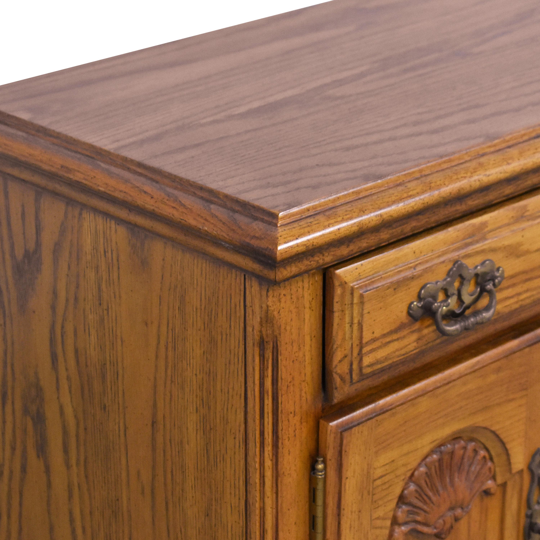 Two Door Nightstands End Tables